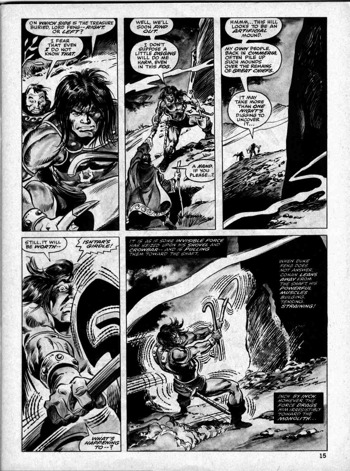 The Savage Sword Of Conan Issue #33 #34 - English 14