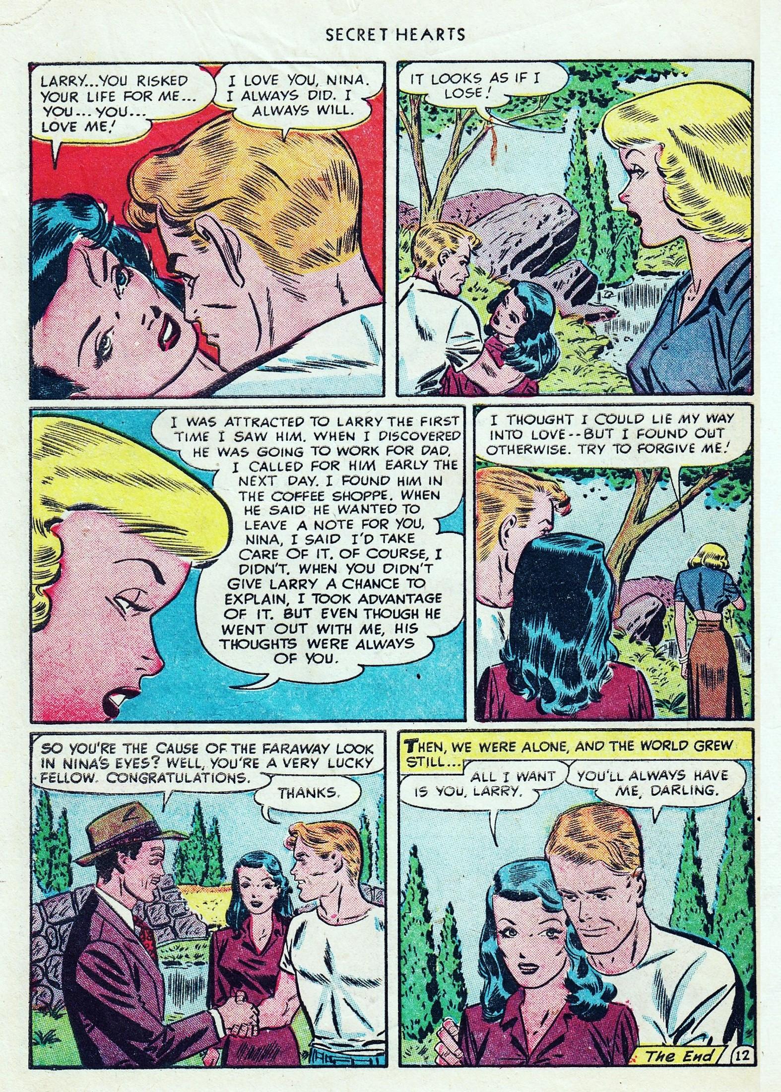 Read online Secret Hearts comic -  Issue #1 - 48