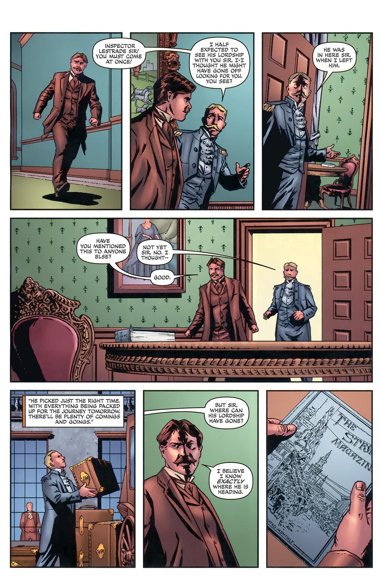 Read online Sherlock Holmes (2009) comic -  Issue #5 - 10