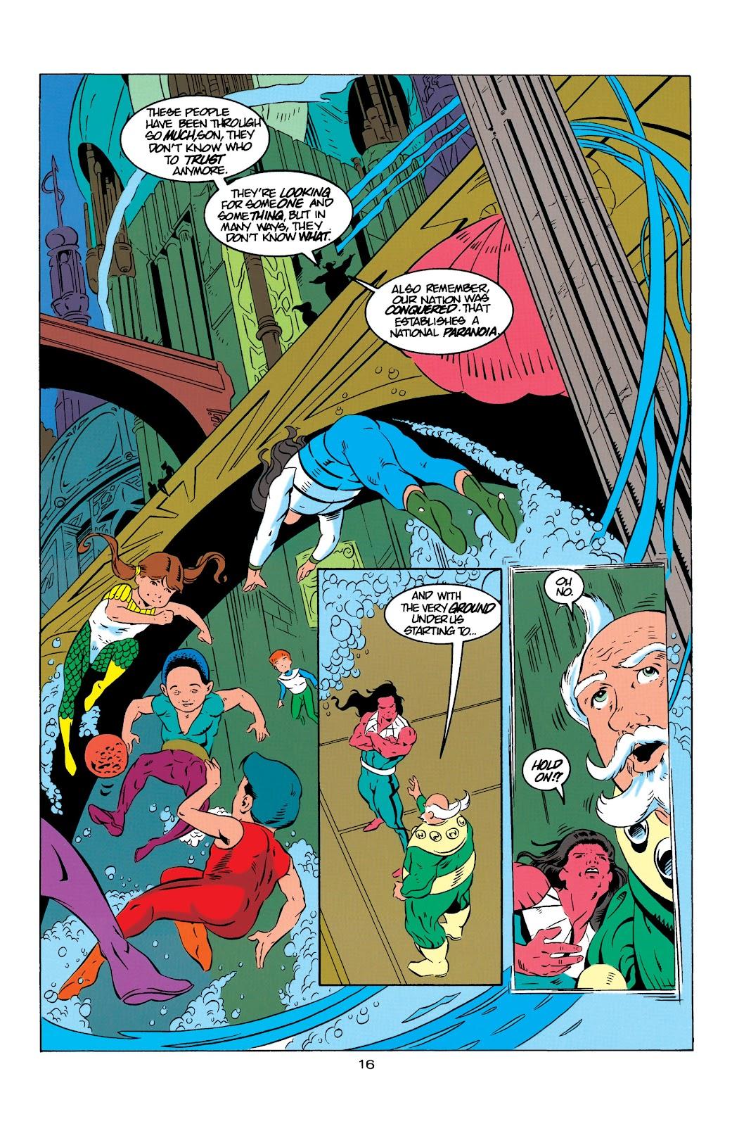 Aquaman (1994) Issue #9 #15 - English 17