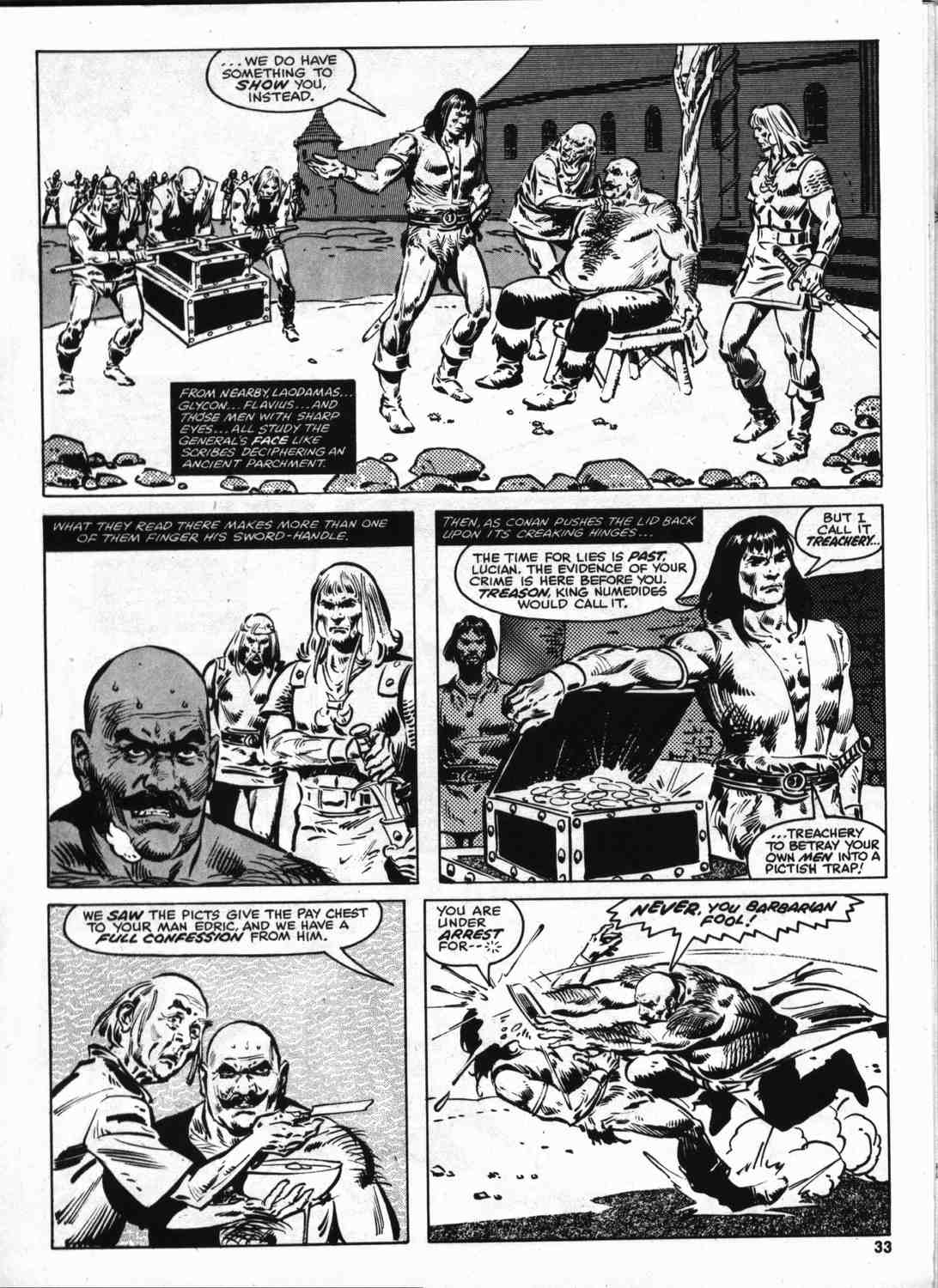 The Savage Sword Of Conan Issue #46 #47 - English 32