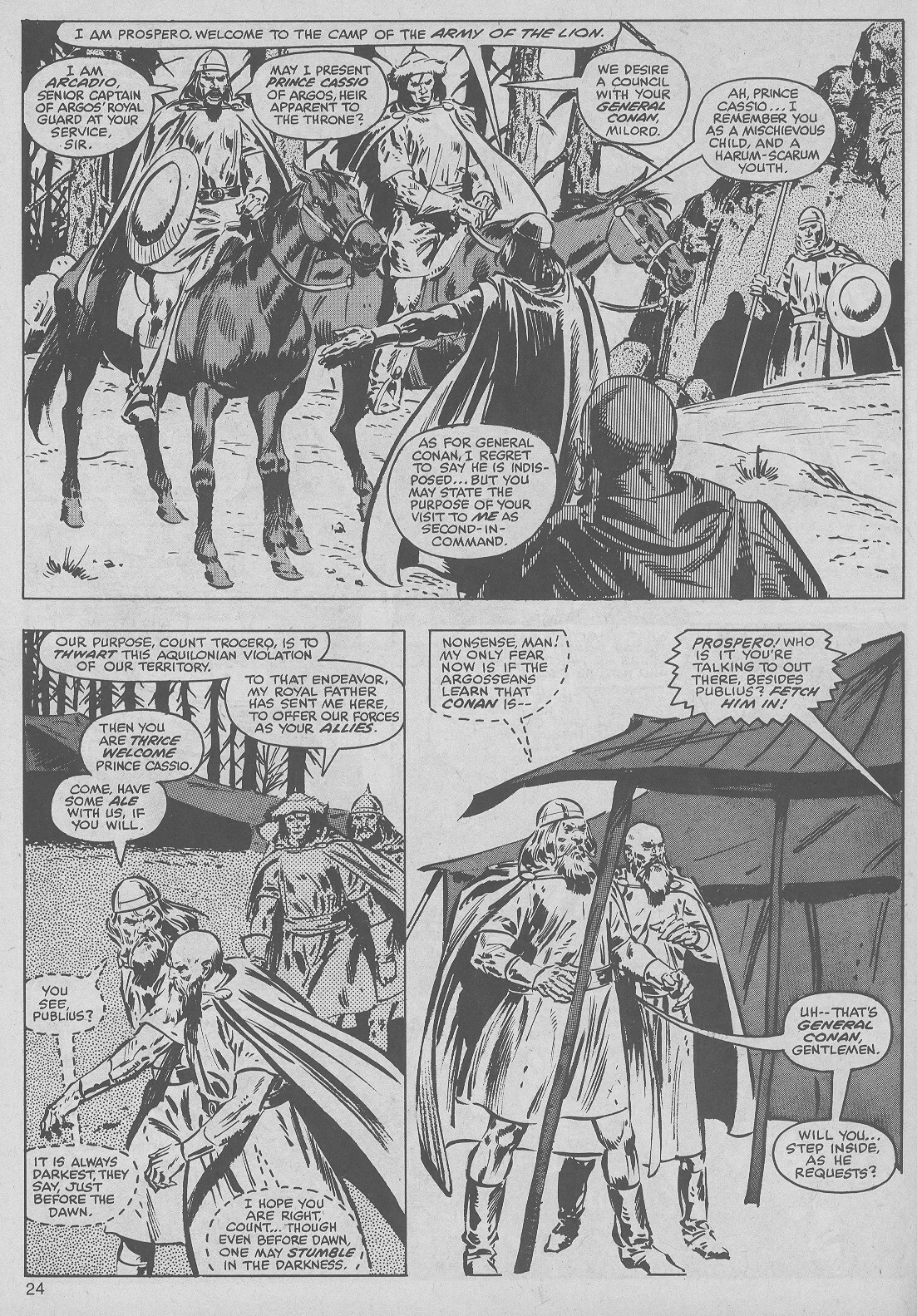 The Savage Sword Of Conan Issue #50 #51 - English 24