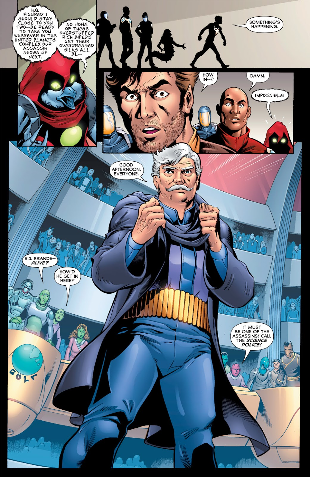 Legion of Super-Heroes (2010) Issue #9 #10 - English 8