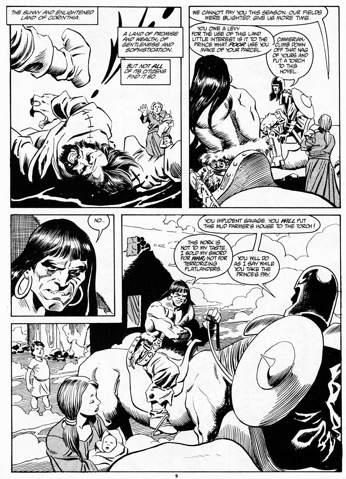The Savage Sword Of Conan Issue #186 #187 - English 11