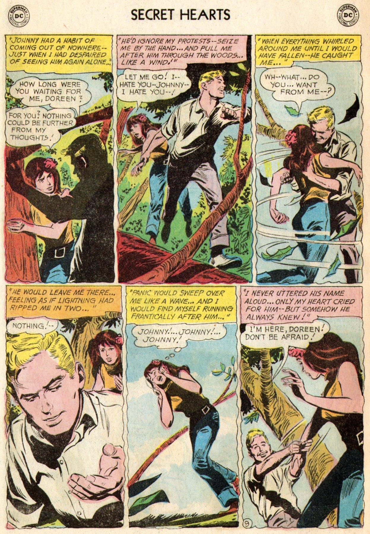 Read online Secret Hearts comic -  Issue #103 - 27