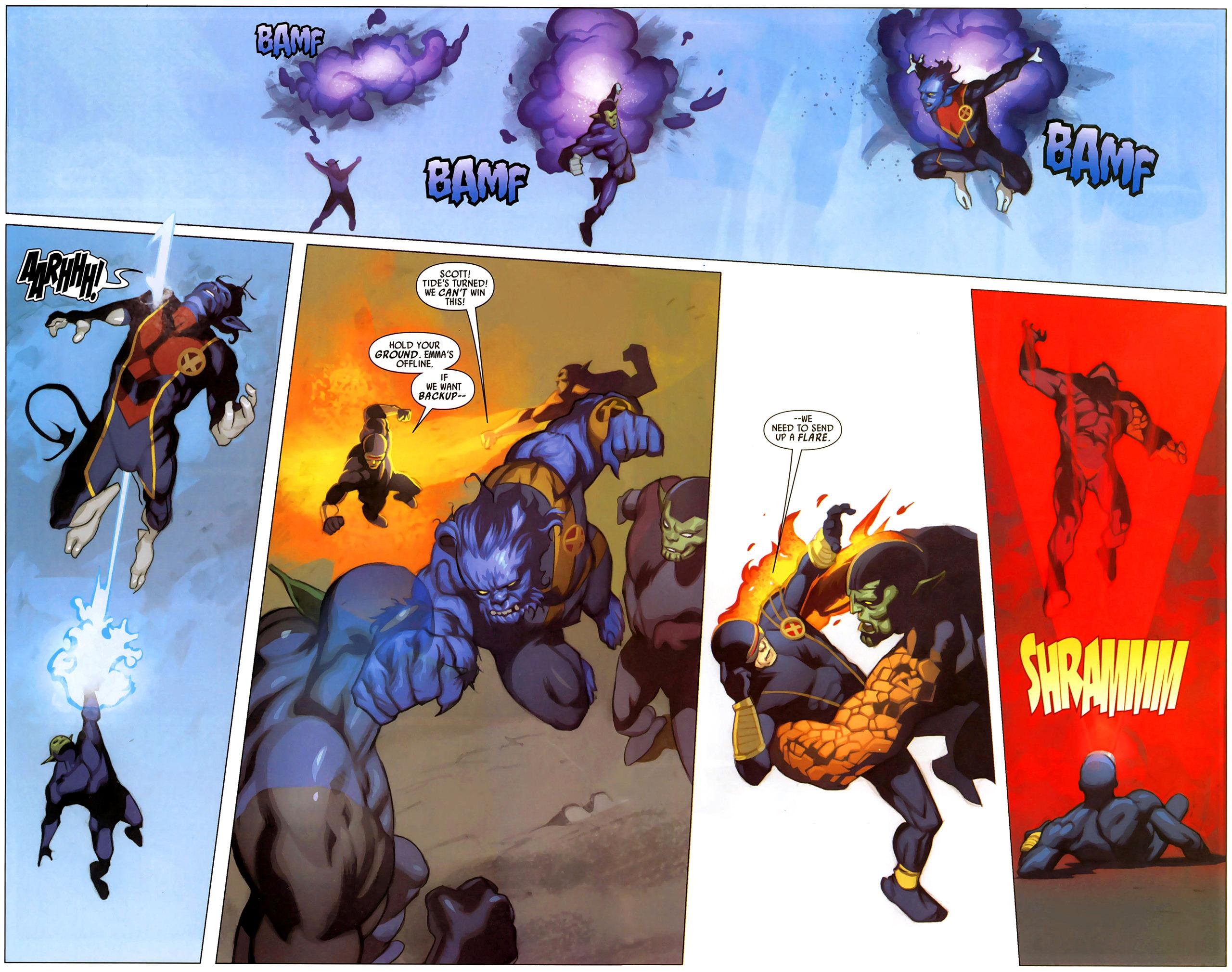 Read online Secret Invasion: X-Men comic -  Issue #2 - 4