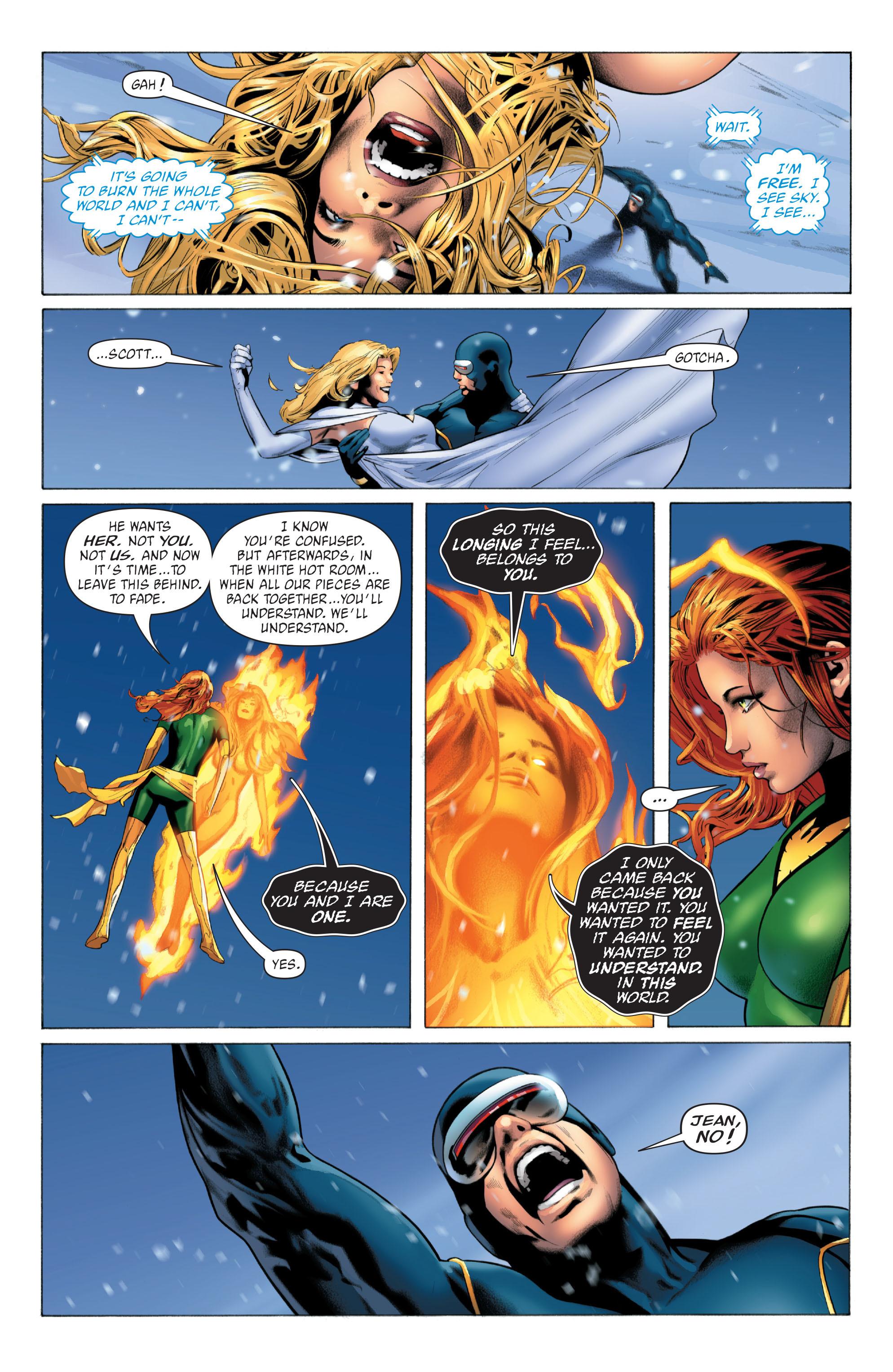 Read online X-Men: Phoenix - Endsong comic -  Issue #5 - 15