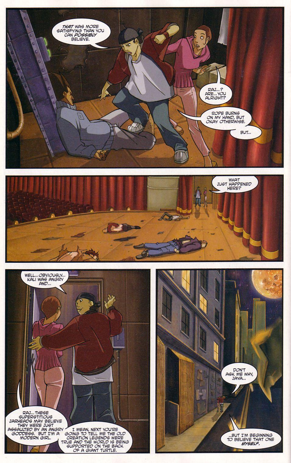 Teenage Mutant Ninja Turtles (2003) chap 7 pic 24