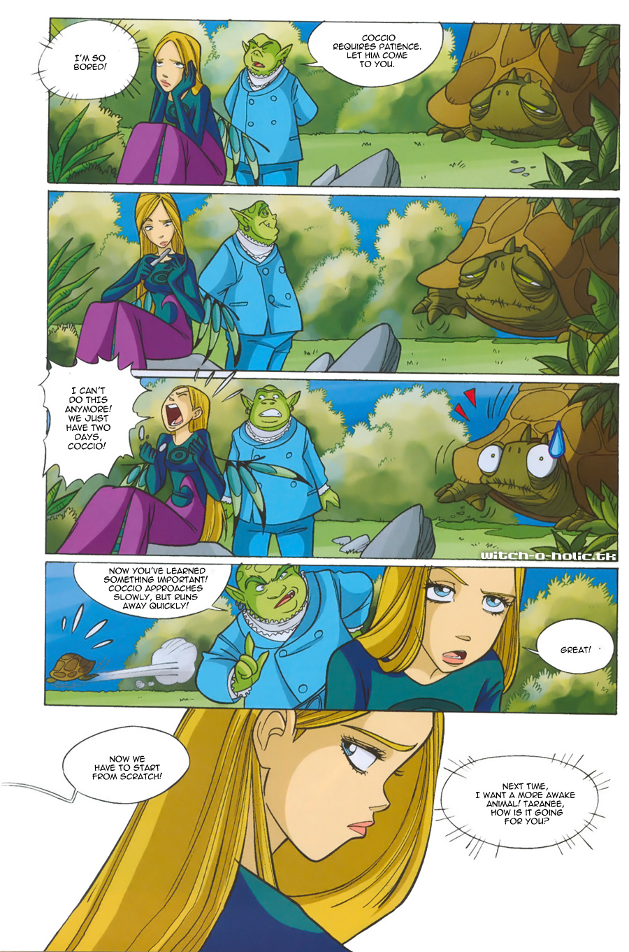 Read online W.i.t.c.h. comic -  Issue #135 - 14