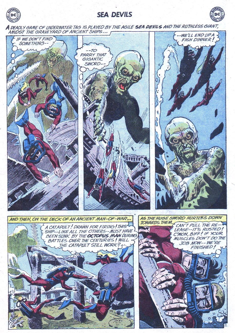 Read online Sea Devils comic -  Issue #1 - 16