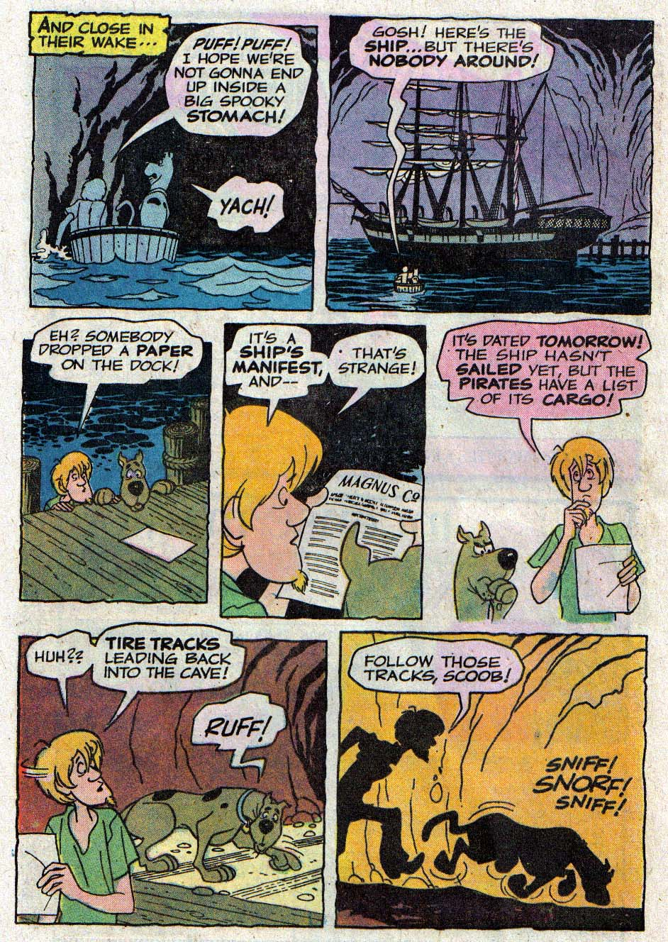 Read online Scooby-Doo... Mystery Comics comic -  Issue #26 - 18