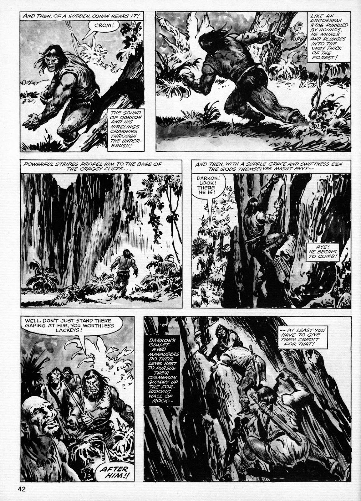 The Savage Sword Of Conan Issue #77 #78 - English 42