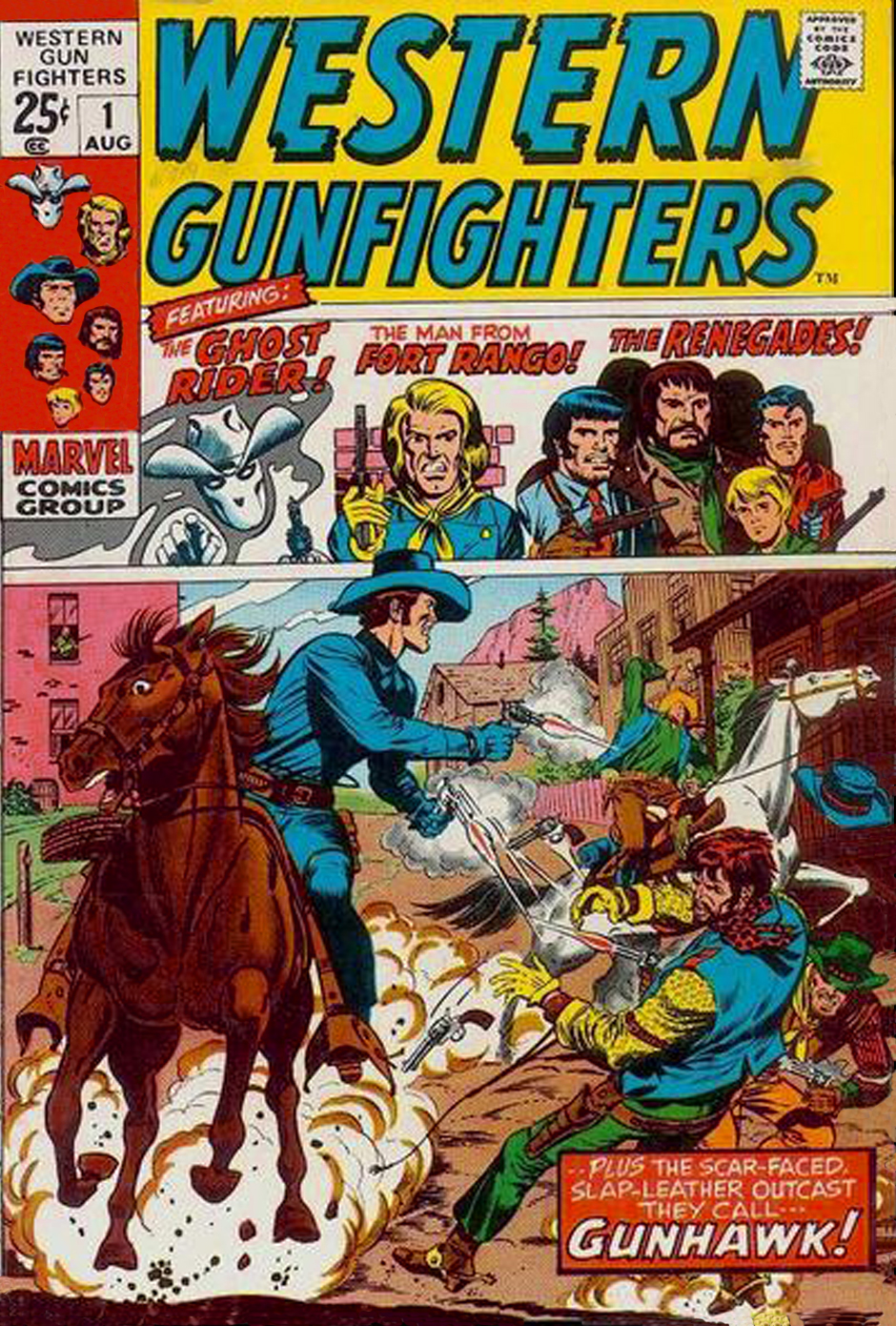 Western Gunfighters 1 Page 1
