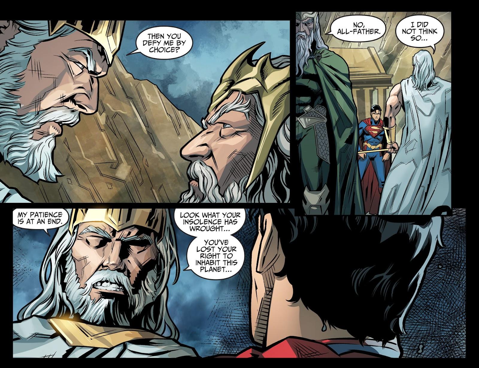 Injustice: Gods Among Us Year Four Issue #20 #21 - English 18