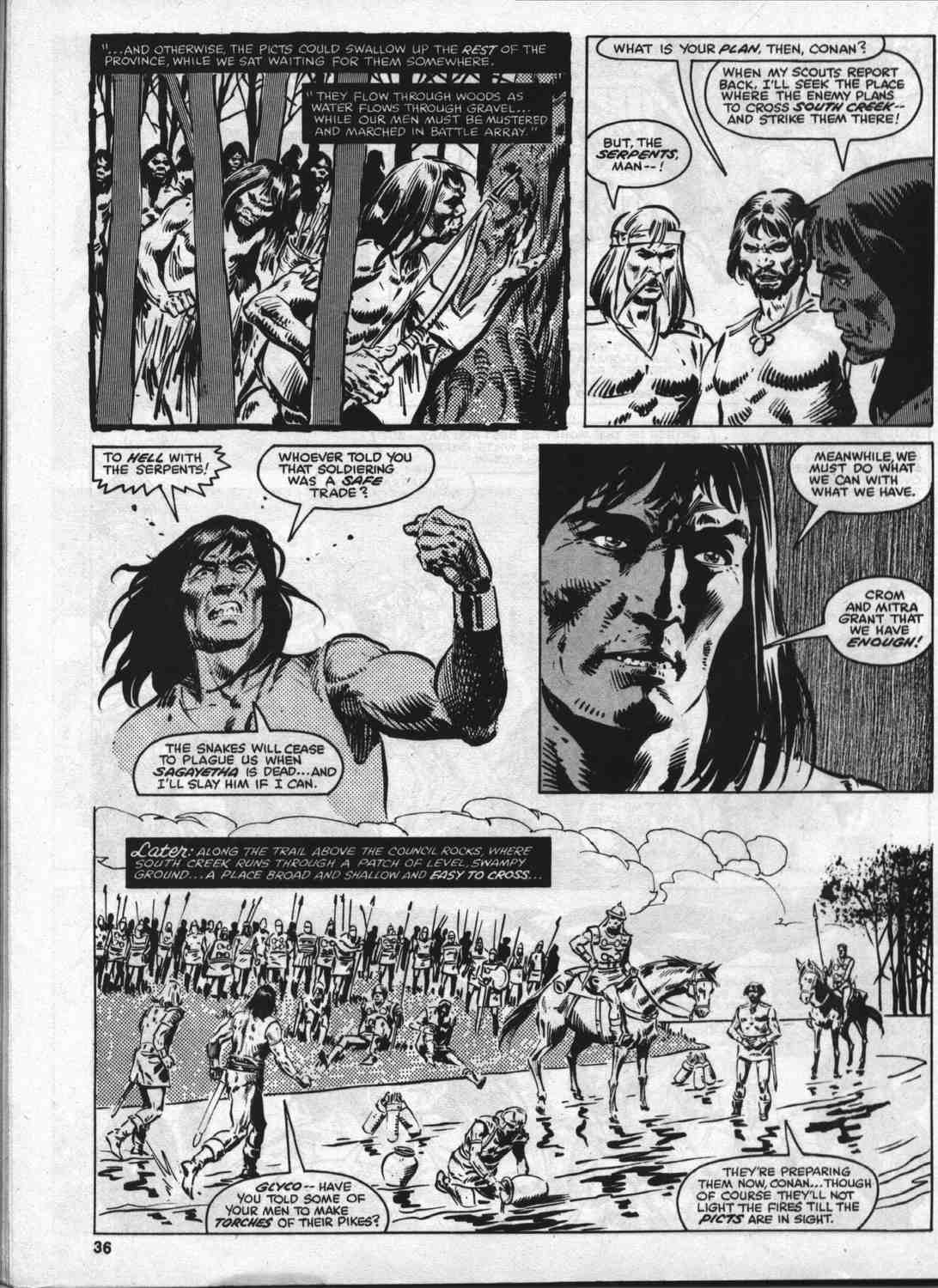 The Savage Sword Of Conan Issue #46 #47 - English 35