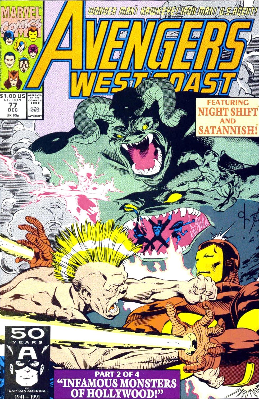 Avengers West Coast (1989) 77 Page 1
