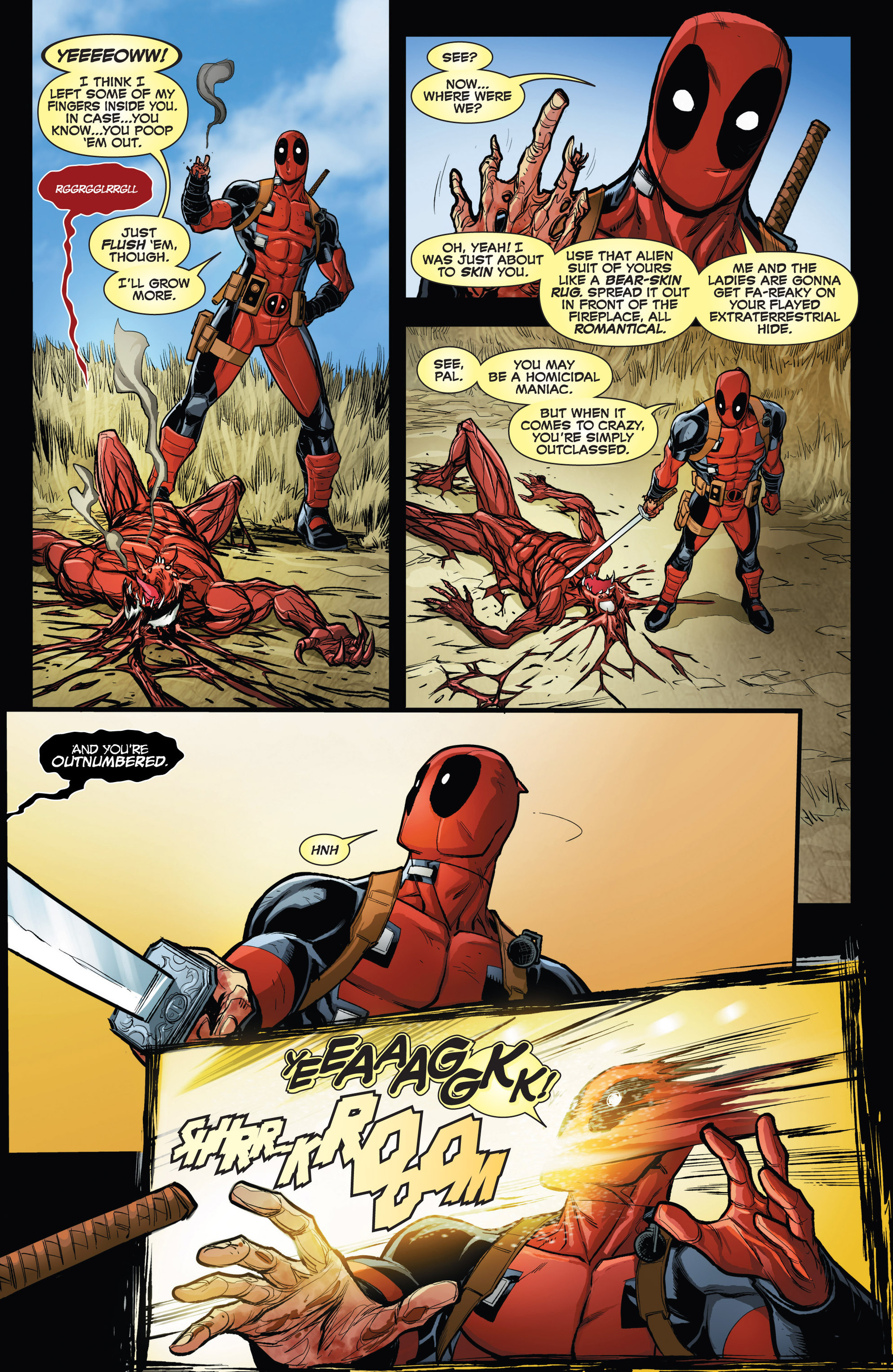 Read online Deadpool vs. Carnage comic -  Issue #1 - 21