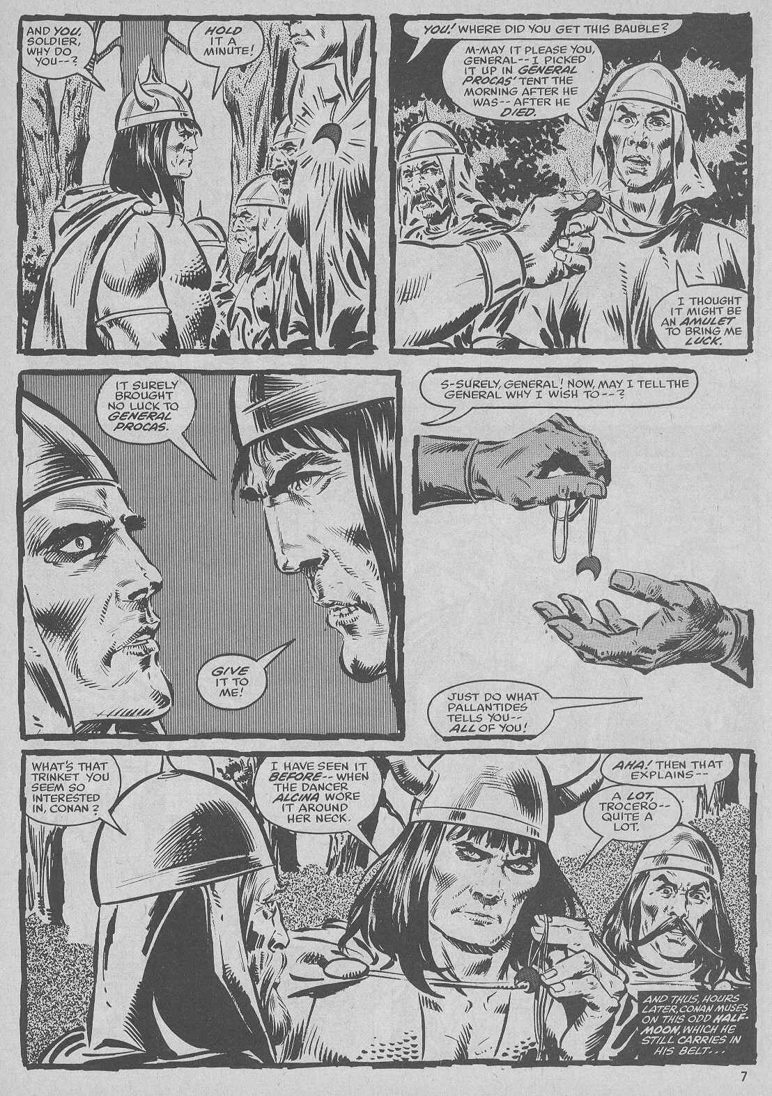 The Savage Sword Of Conan Issue #51 #52 - English 7