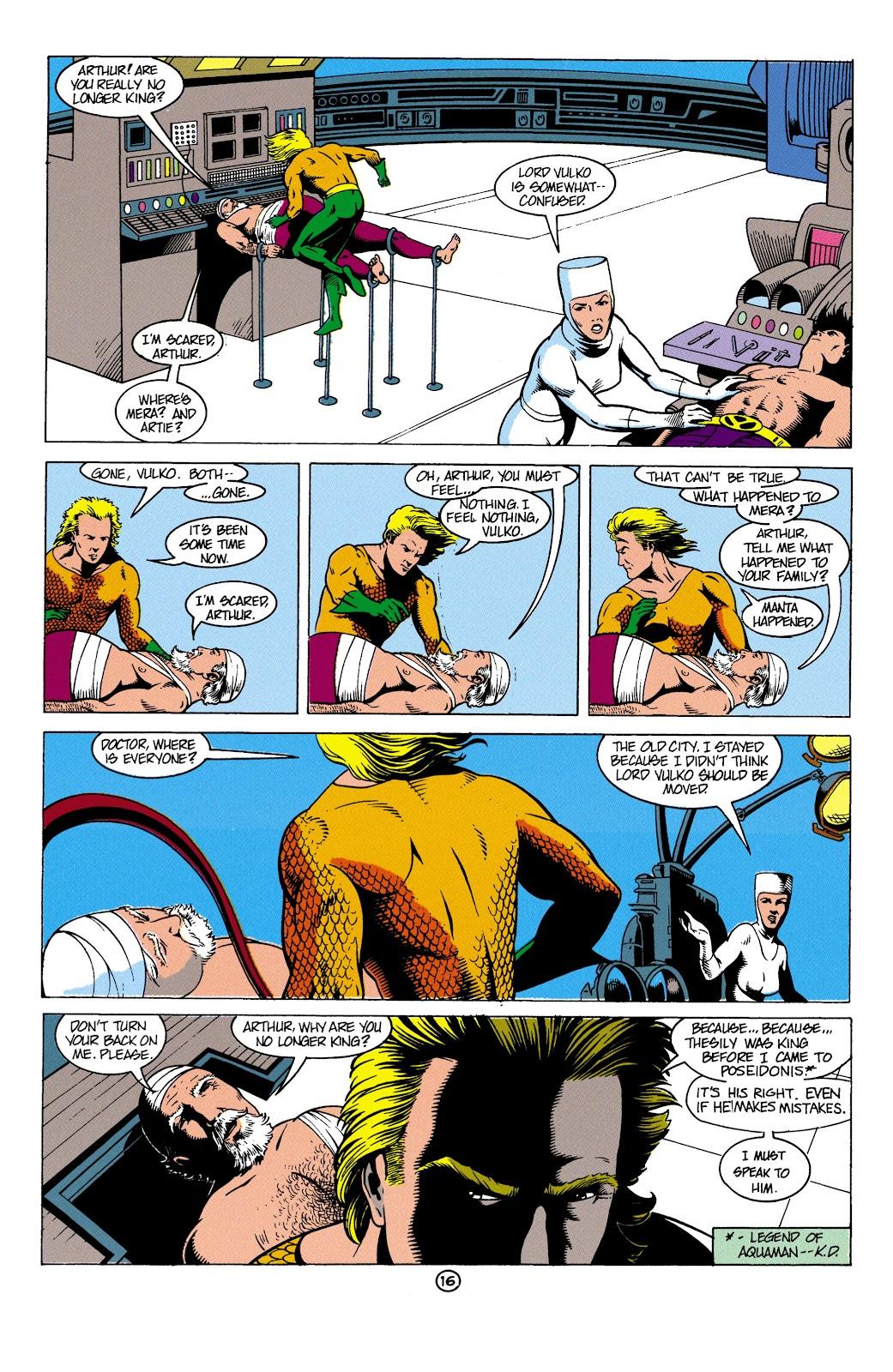 Aquaman (1991) Issue #4 #4 - English 17