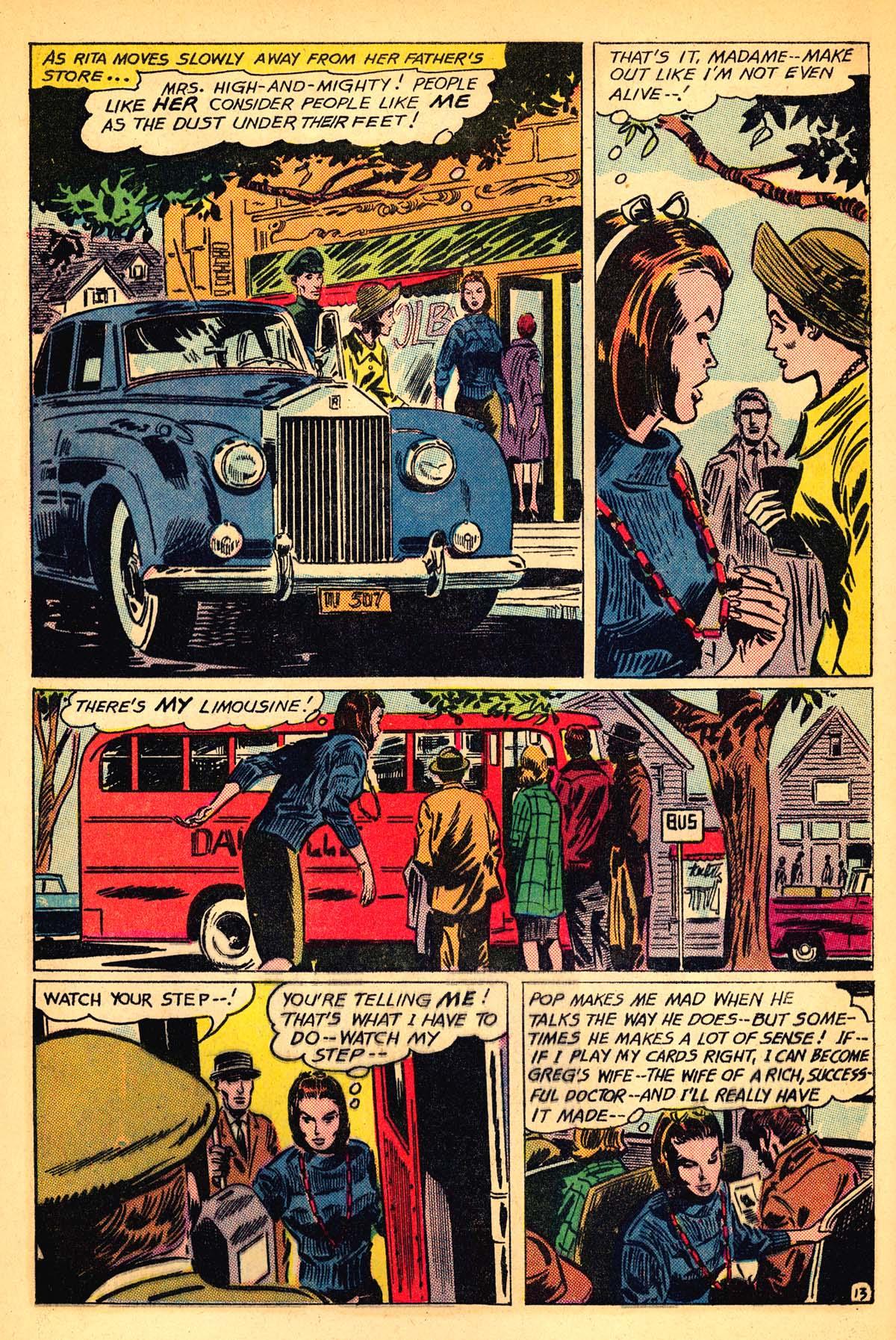 Read online Secret Hearts comic -  Issue #111 - 32
