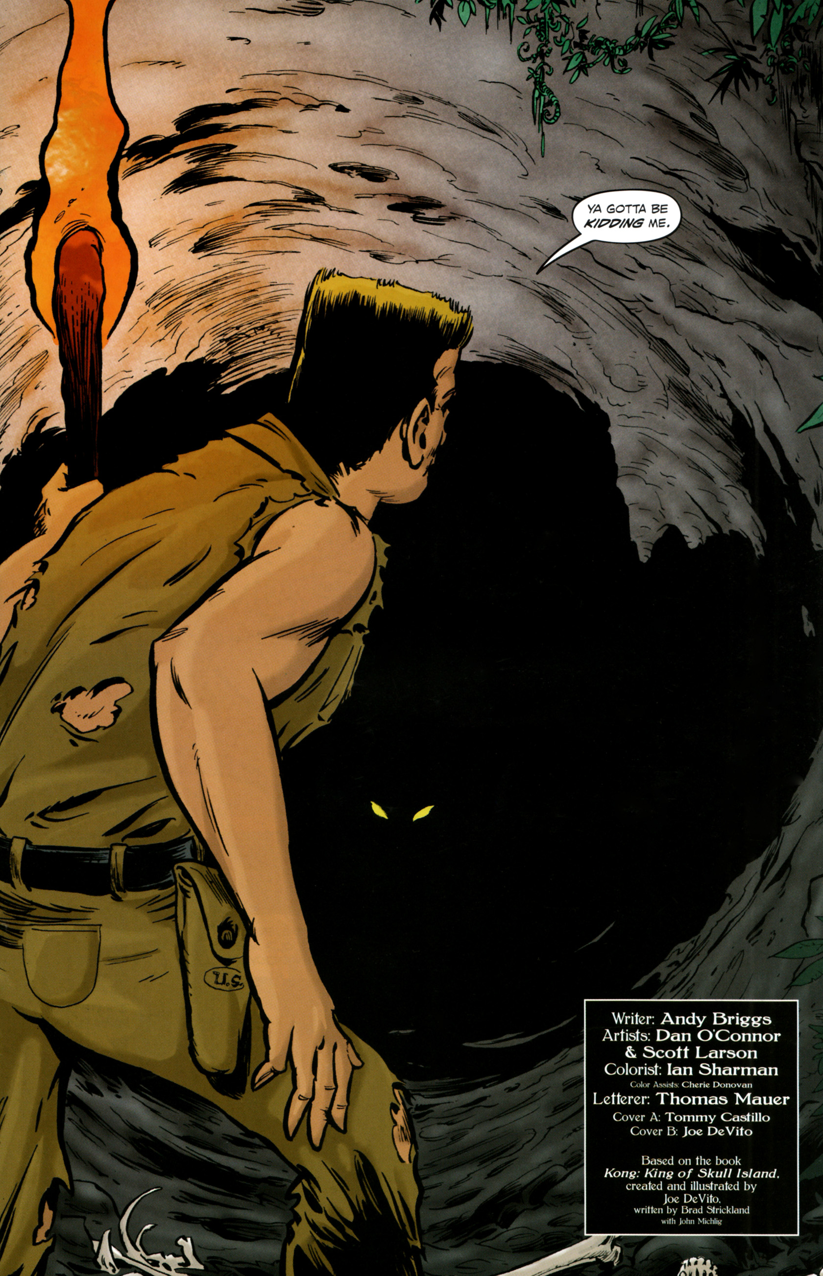 Read online Kong: King Of Skull Island comic -  Issue #4 - 5