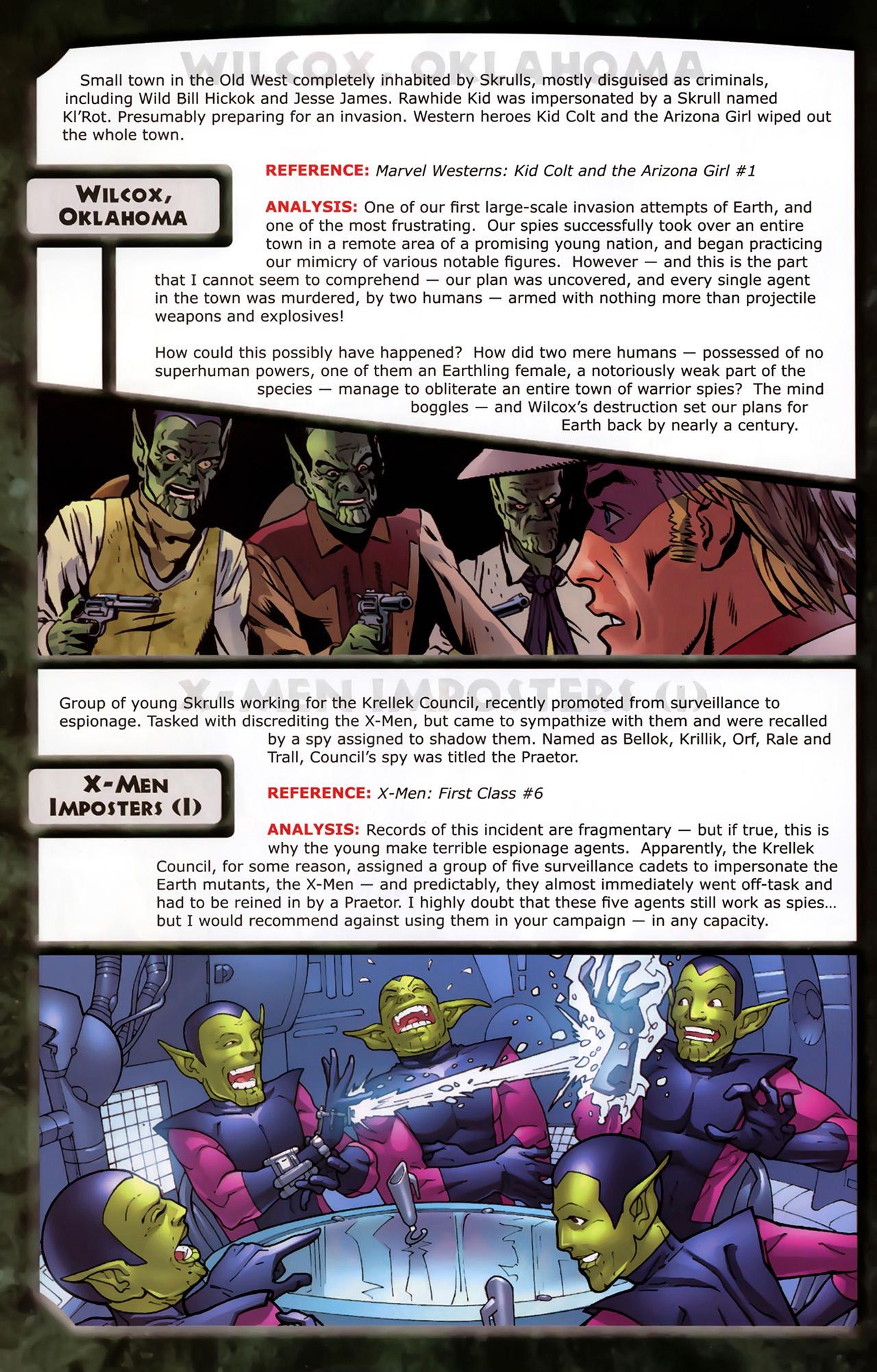 Read online Skrulls! comic -  Issue # Full - 56
