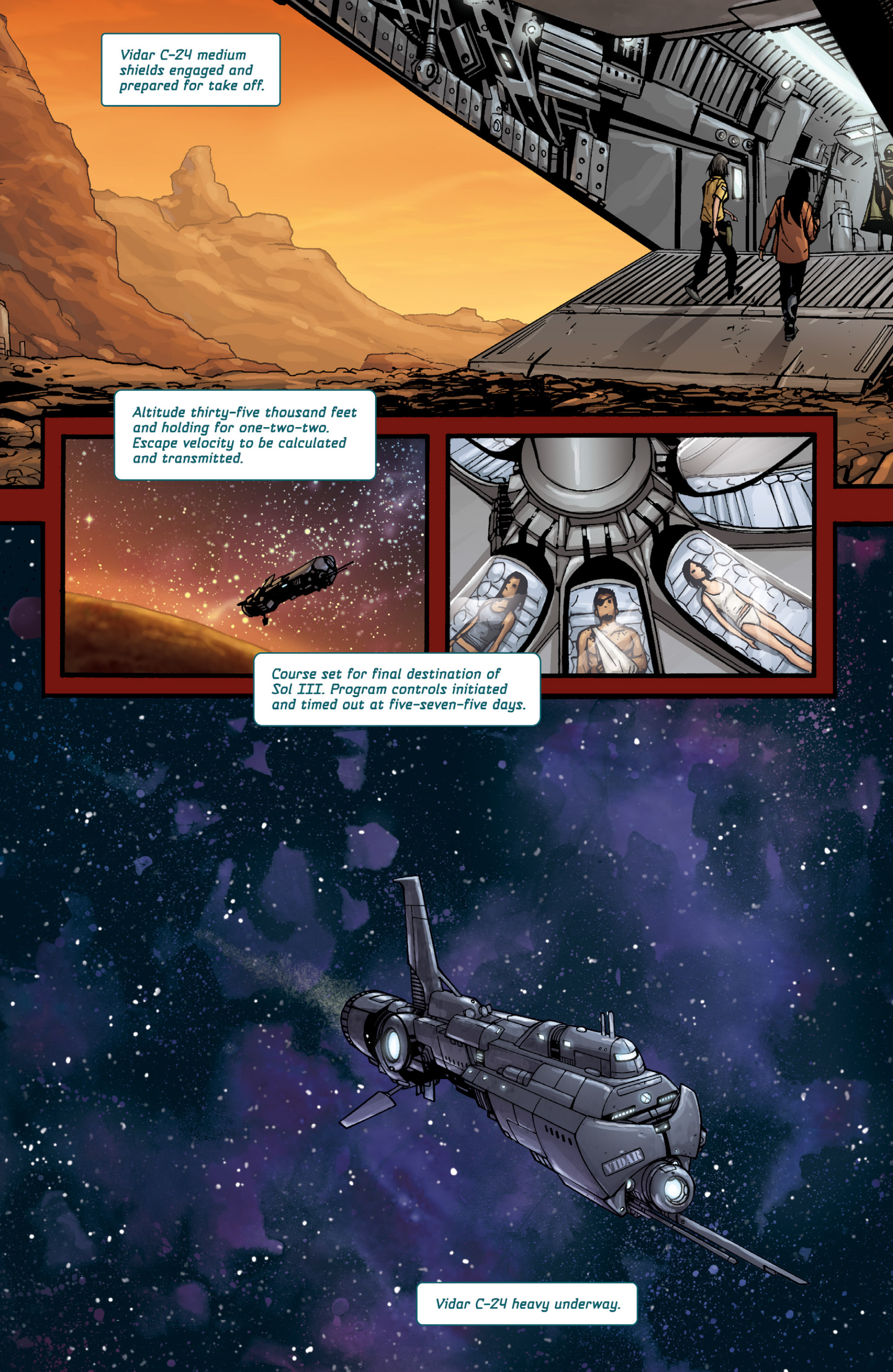 Aliens (2009) TPB Page 96