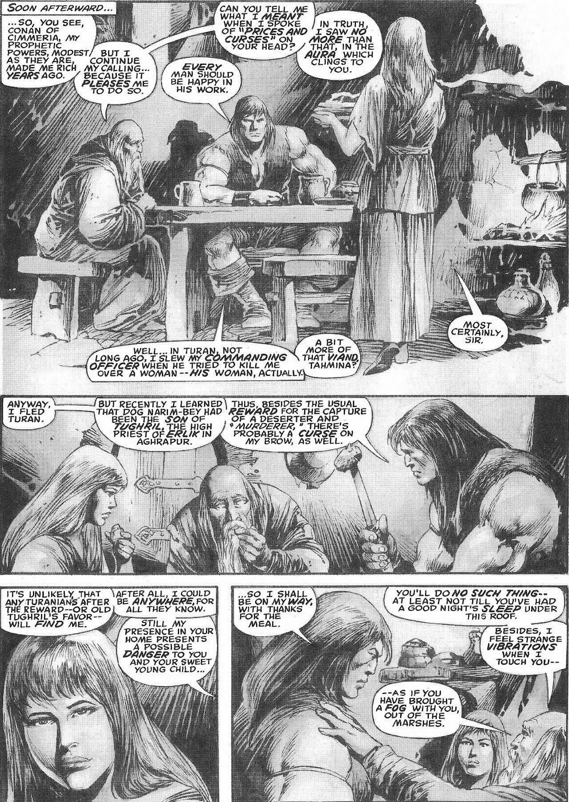 The Savage Sword Of Conan Issue #207 #208 - English 30