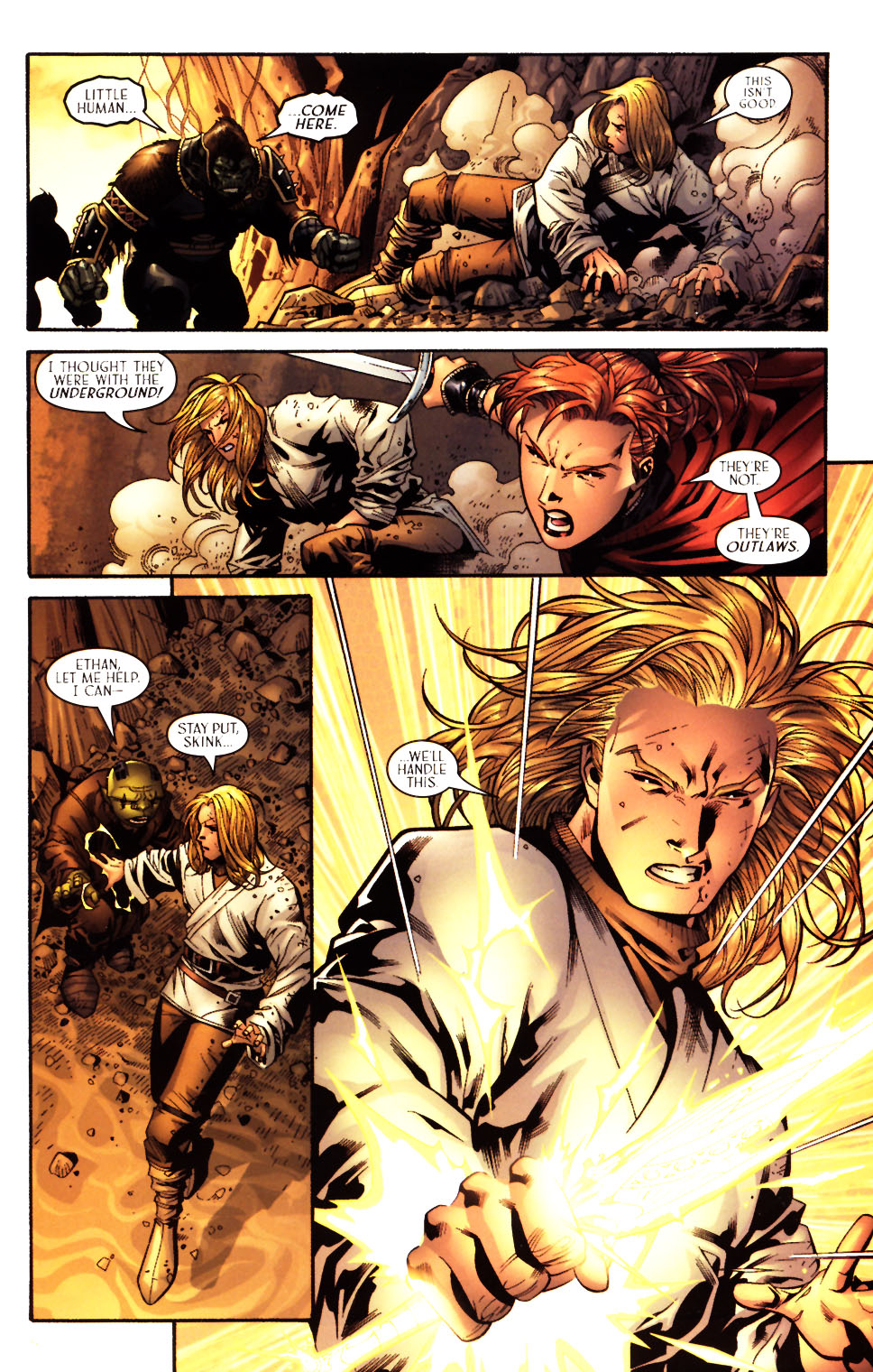 Read online Scion comic -  Issue #15 - 13
