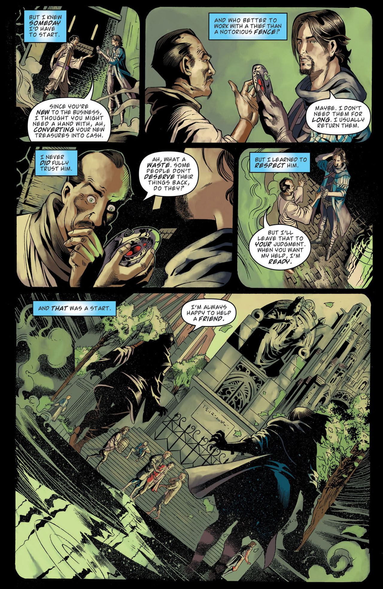 Read online Magic: The Gathering--Path of Vengeance comic -  Issue #1 - 17