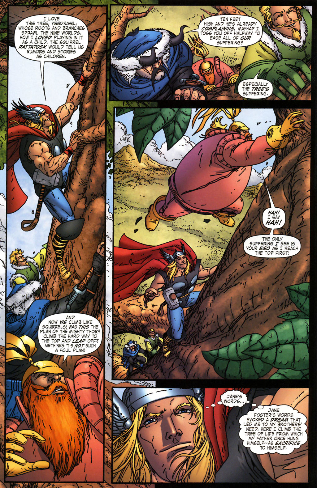 Read online Thor: Blood Oath comic -  Issue #2 - 5