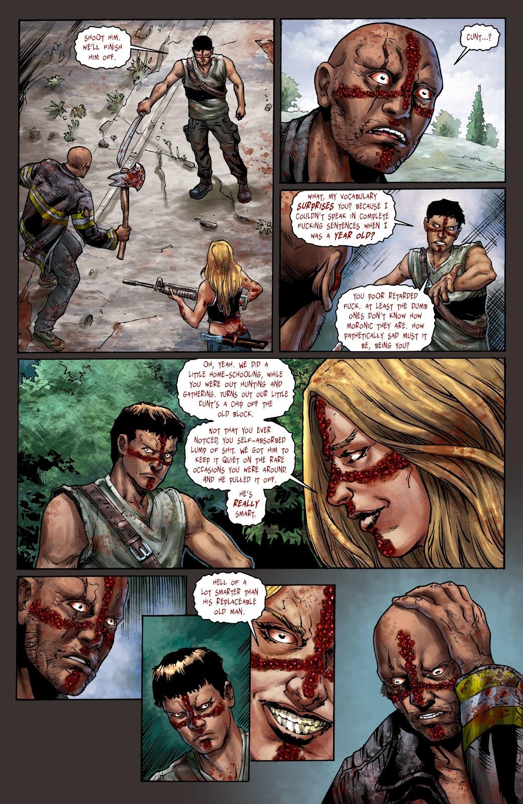 Crossed: Badlands Issue #100 #103 - English 18