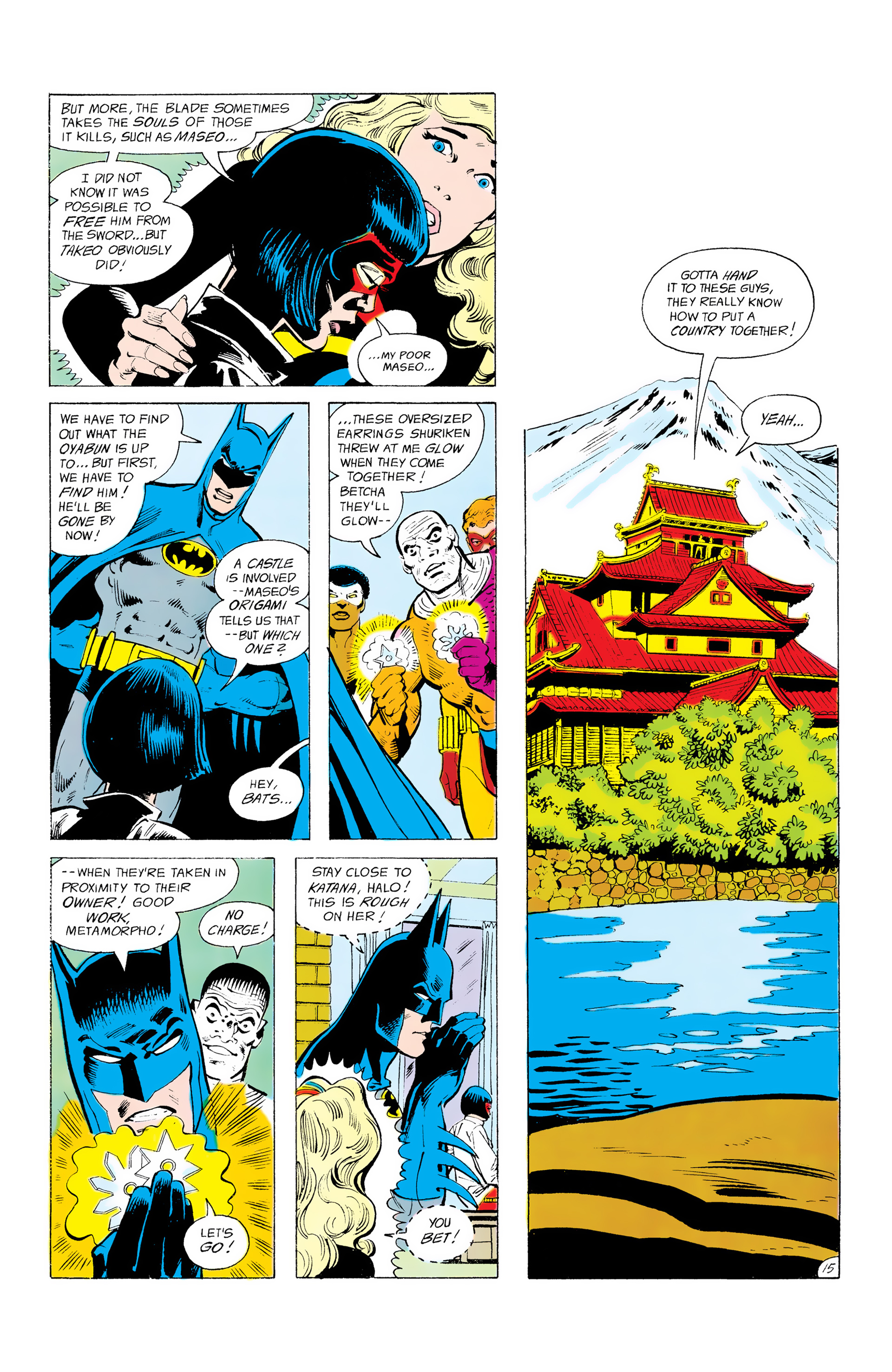 Batman and the Outsiders (1983) 12 Page 15