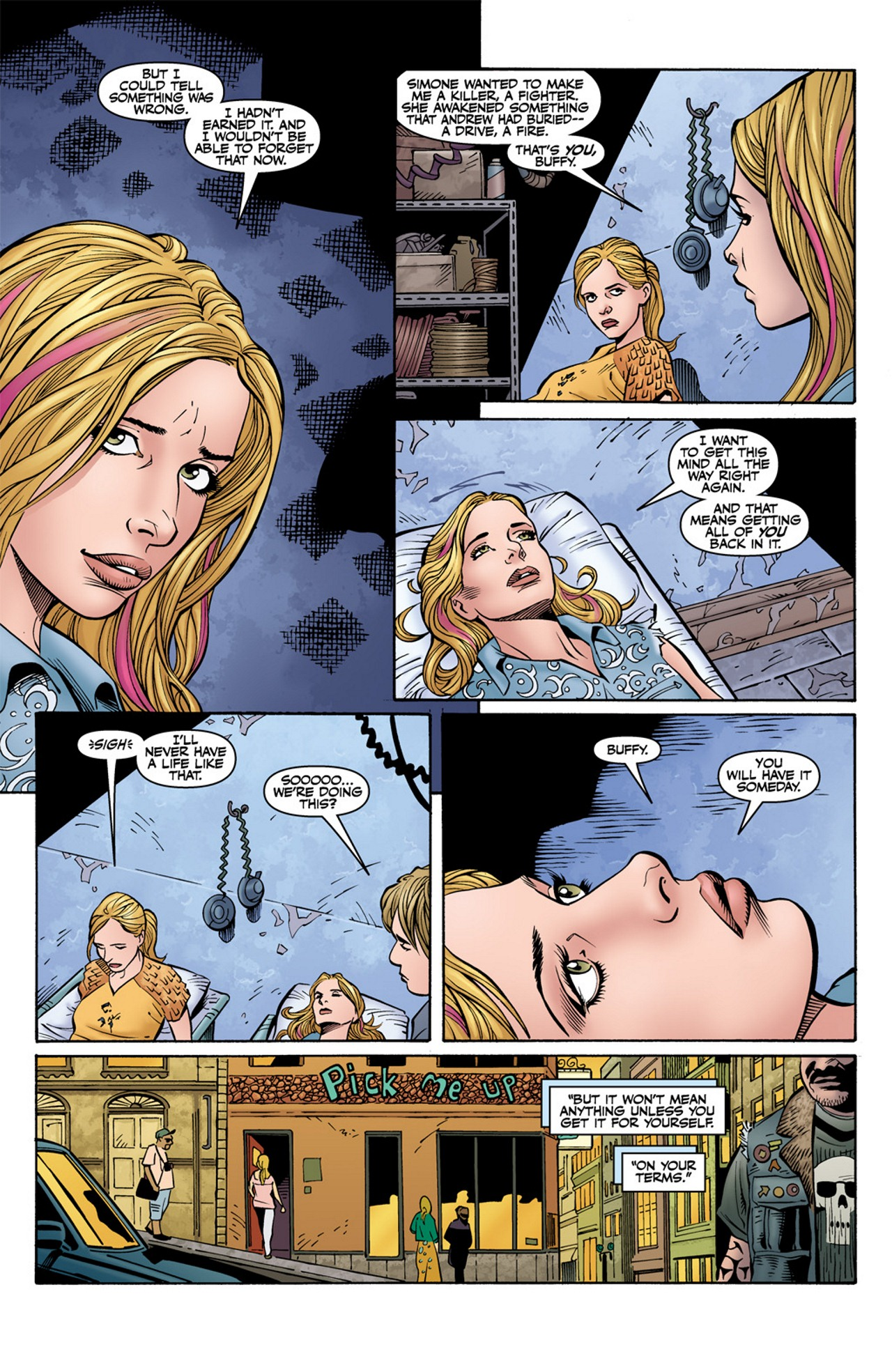 Read online Buffy the Vampire Slayer Season Nine comic -  Issue #10 - 23