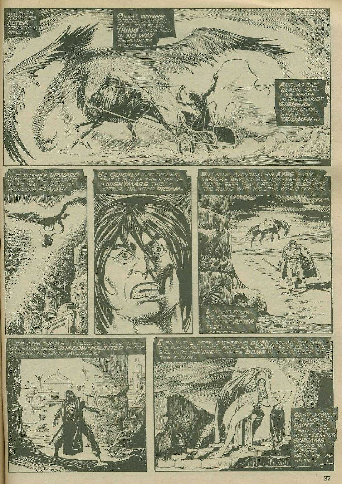 The Savage Sword Of Conan Issue #2 #3 - English 36