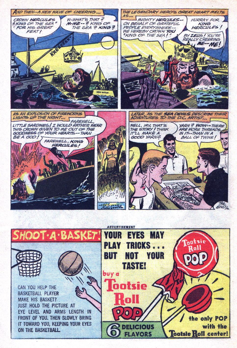Read online Sea Devils comic -  Issue #14 - 16