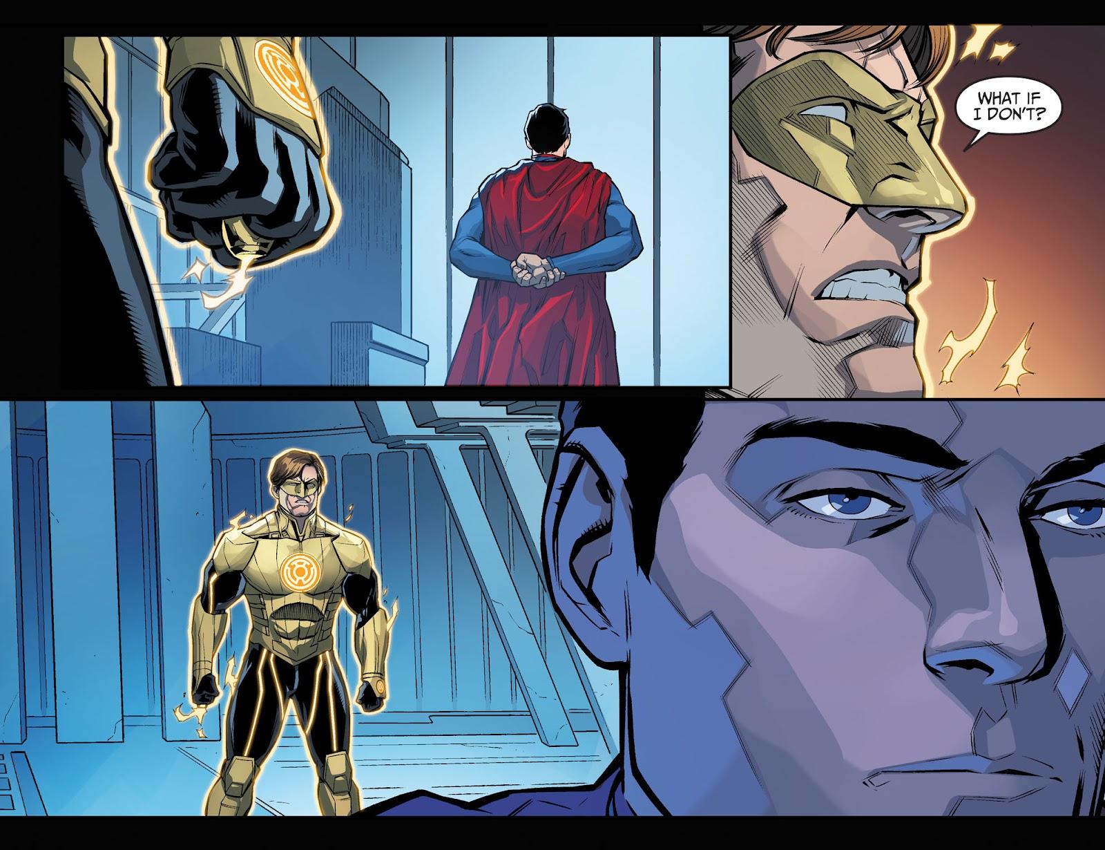 Injustice: Gods Among Us Year Four Issue #1 #2 - English 12