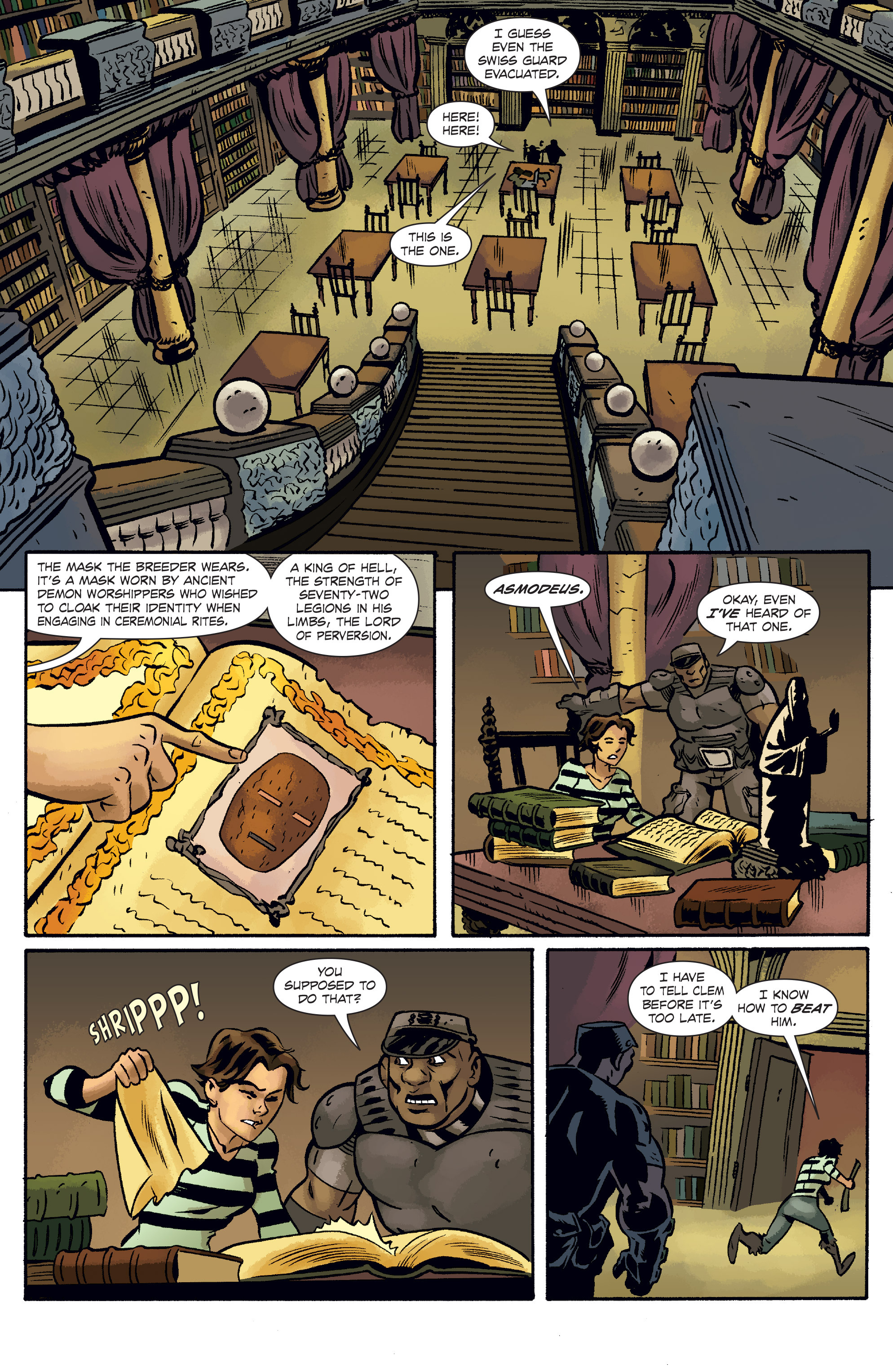 Read online The Anchor comic -  Issue # TPB 1 - 86