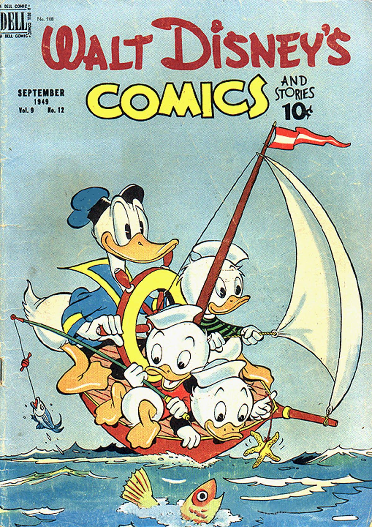 Walt Disneys Comics and Stories 108 Page 1