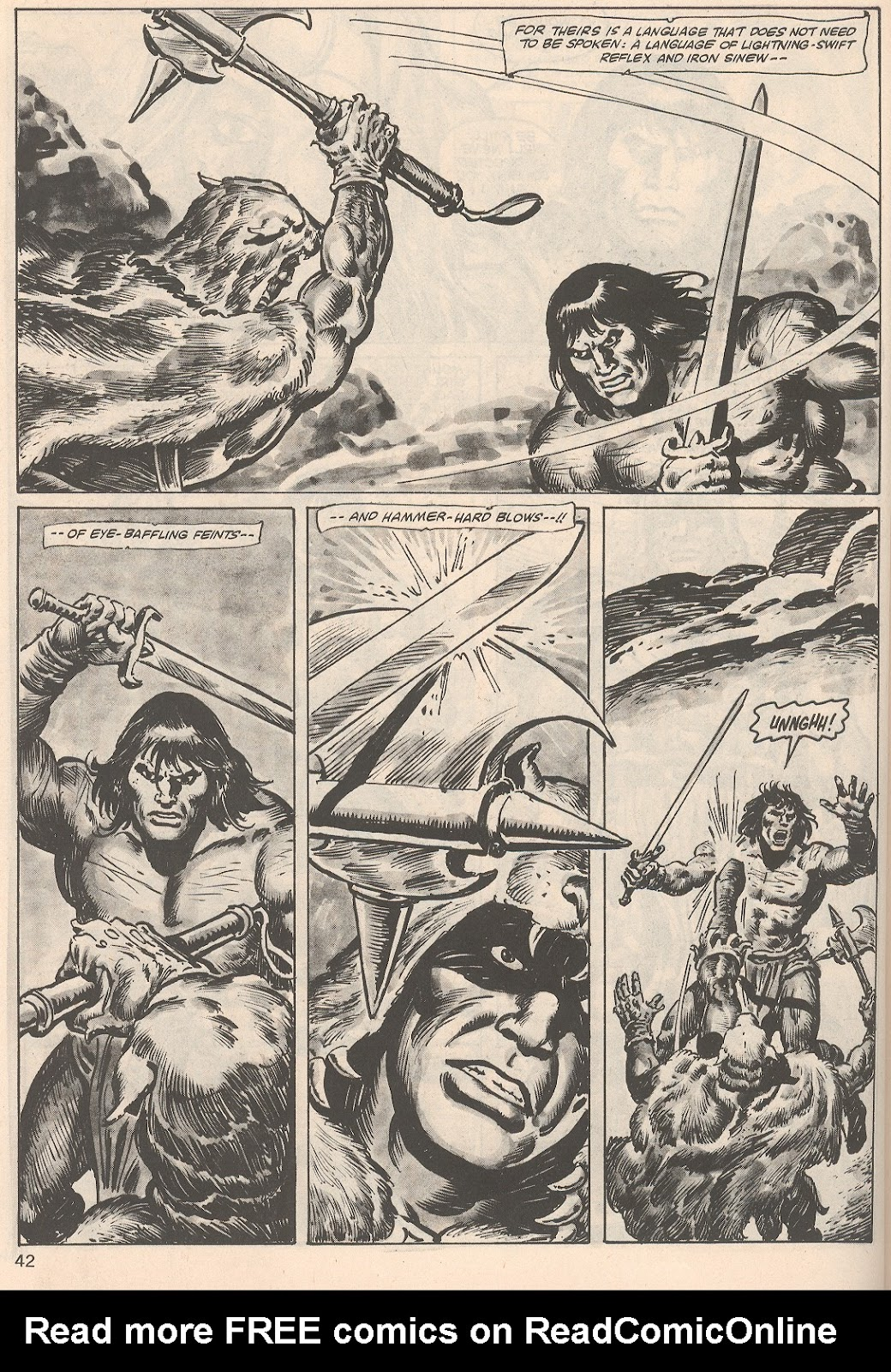 The Savage Sword Of Conan Issue #104 #105 - English 42