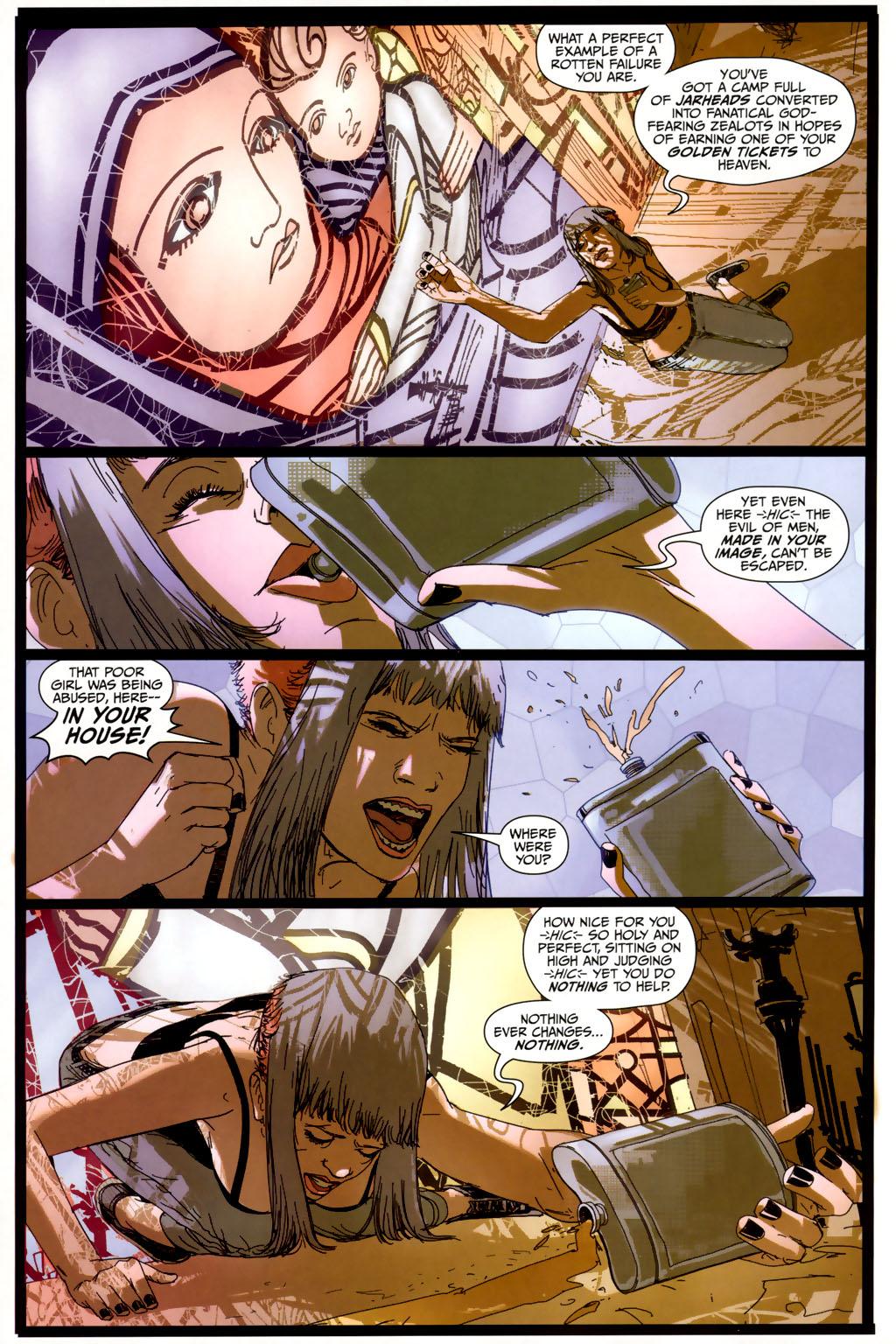Read online Strange Girl comic -  Issue #6 - 14