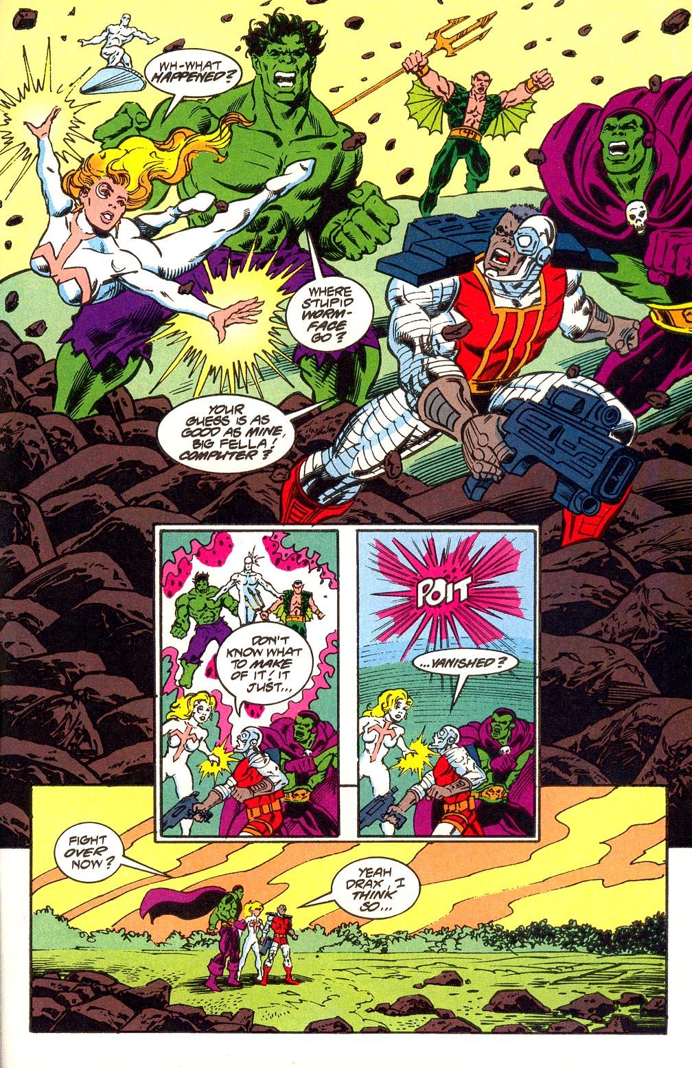 Read online Secret Defenders comic -  Issue #25 - 31