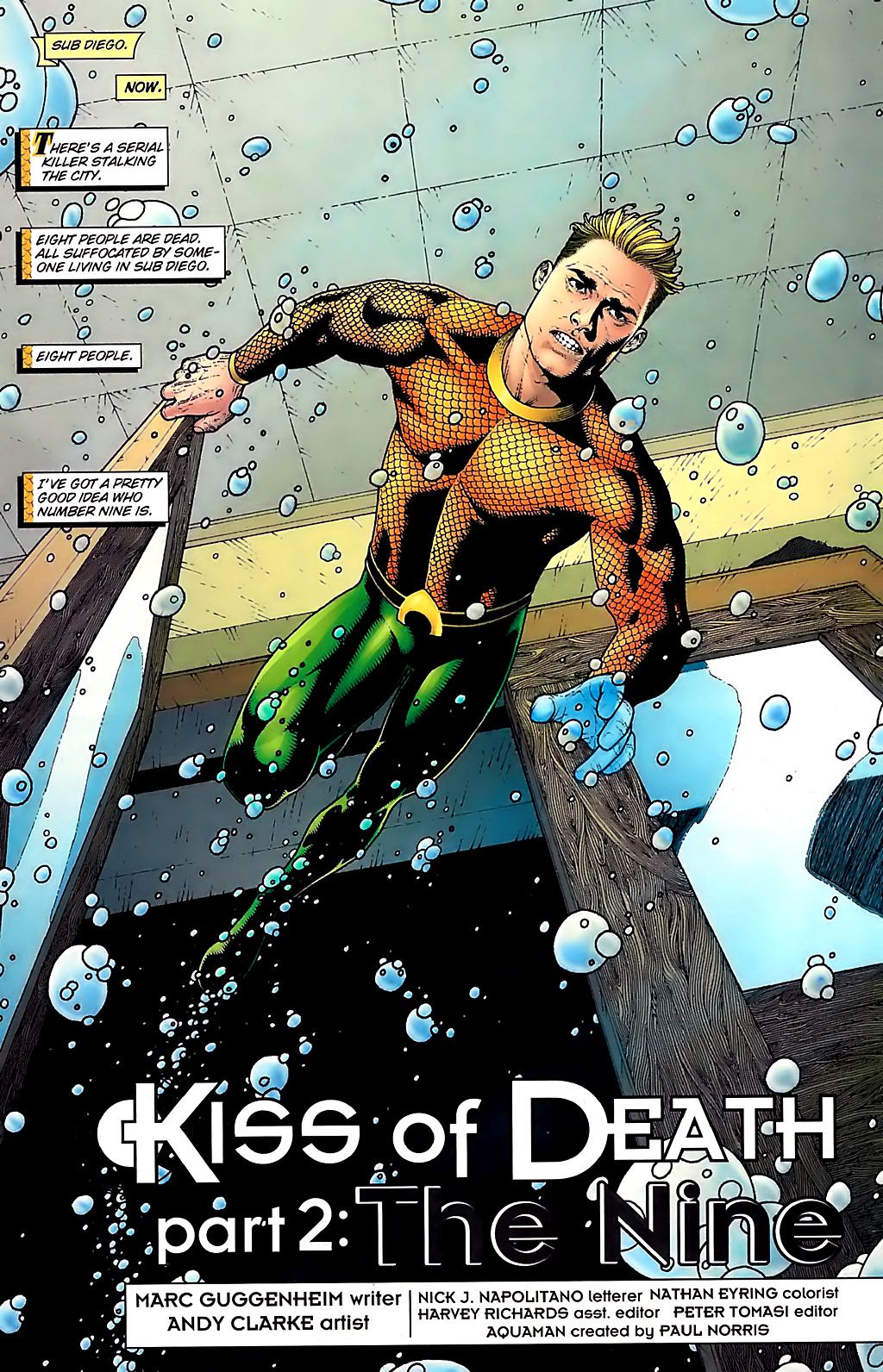 Aquaman (2003) Issue #31 #31 - English 2