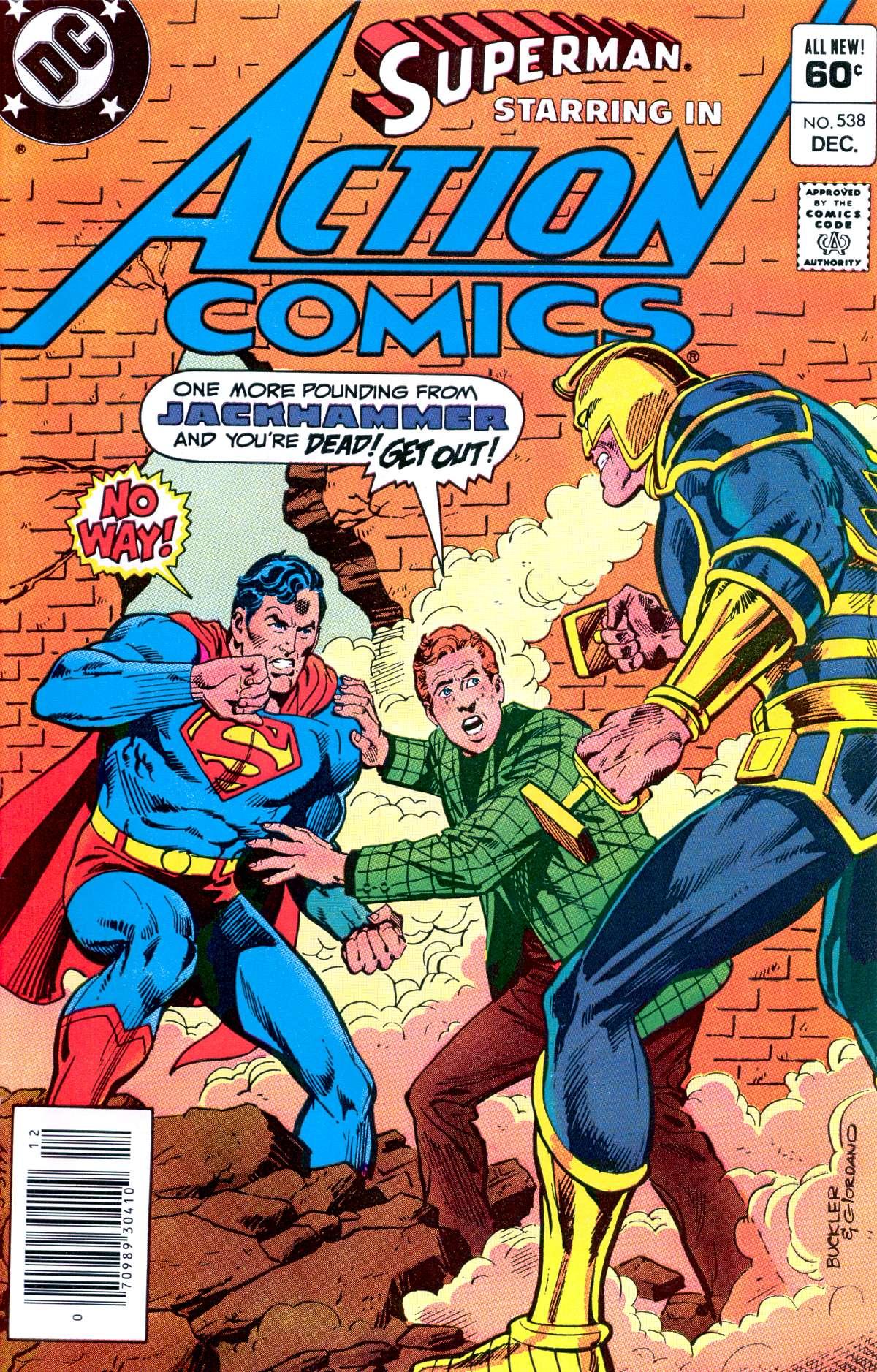Action Comics (1938) 538 Page 1