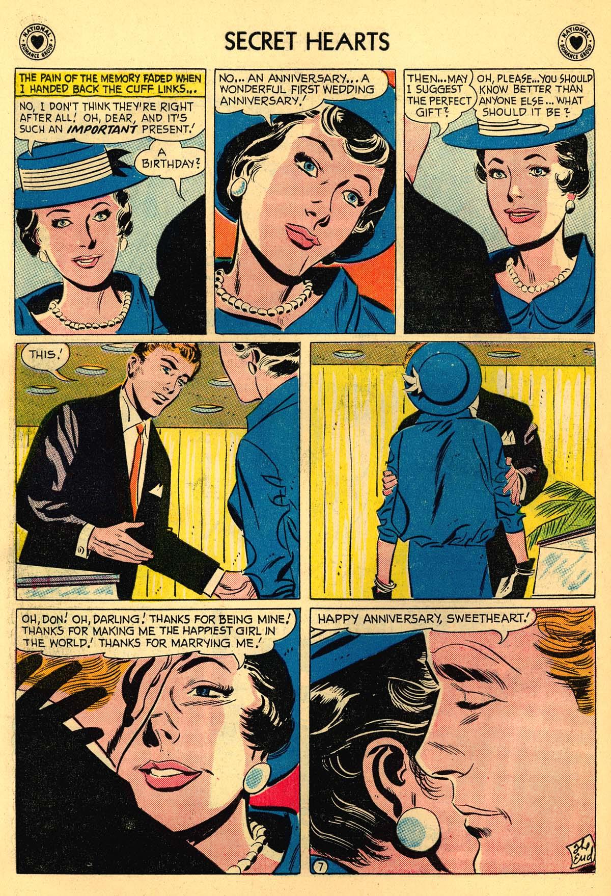 Read online Secret Hearts comic -  Issue #55 - 26