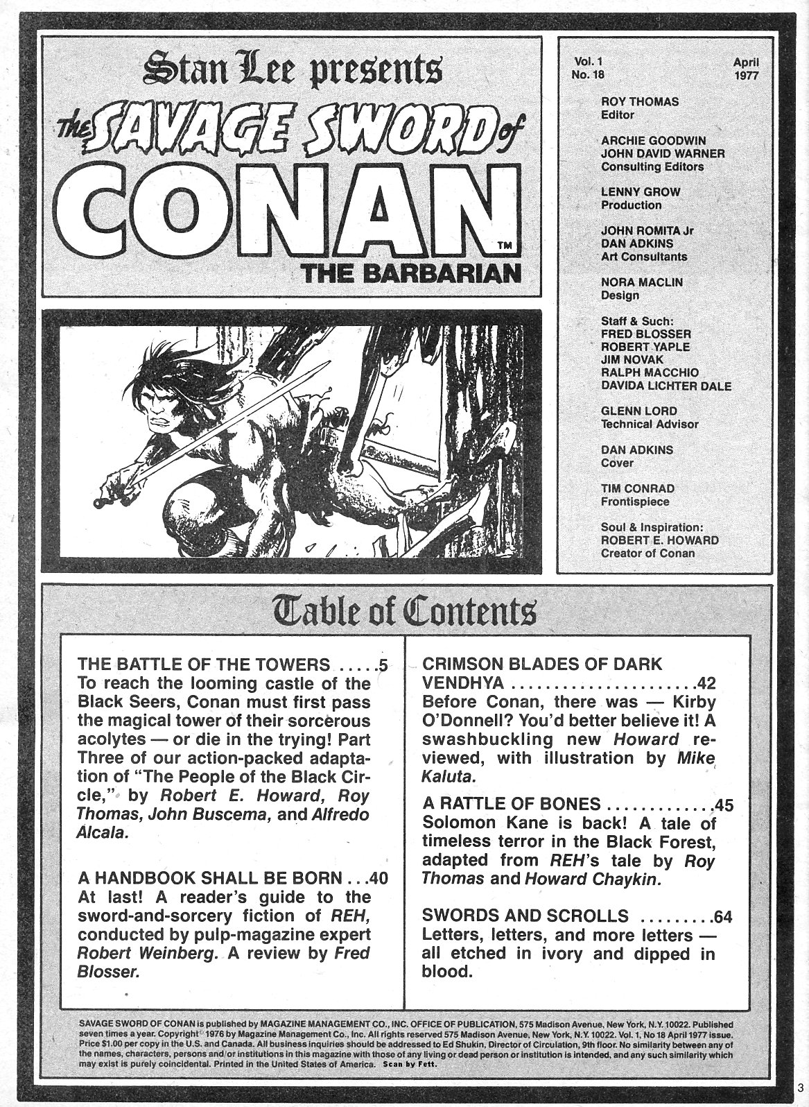 The Savage Sword Of Conan Issue #18 #19 - English 3