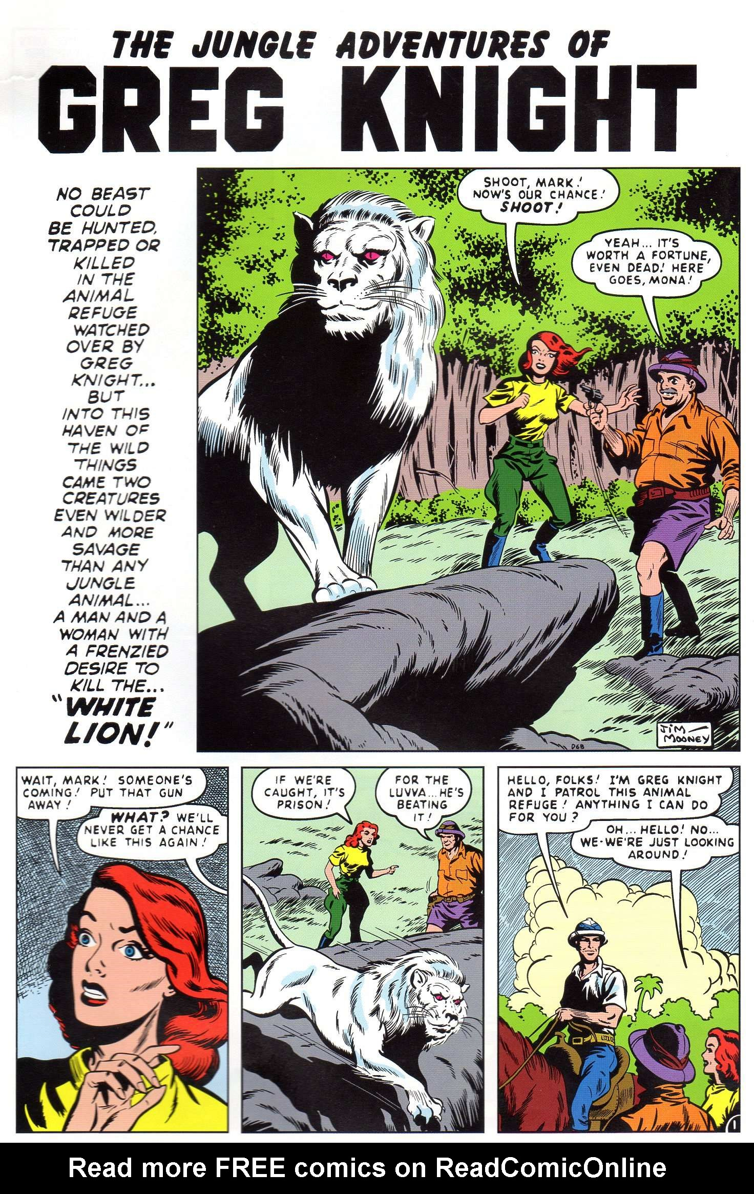Read online Lorna, The Jungle Queen comic -  Issue #4 - 16