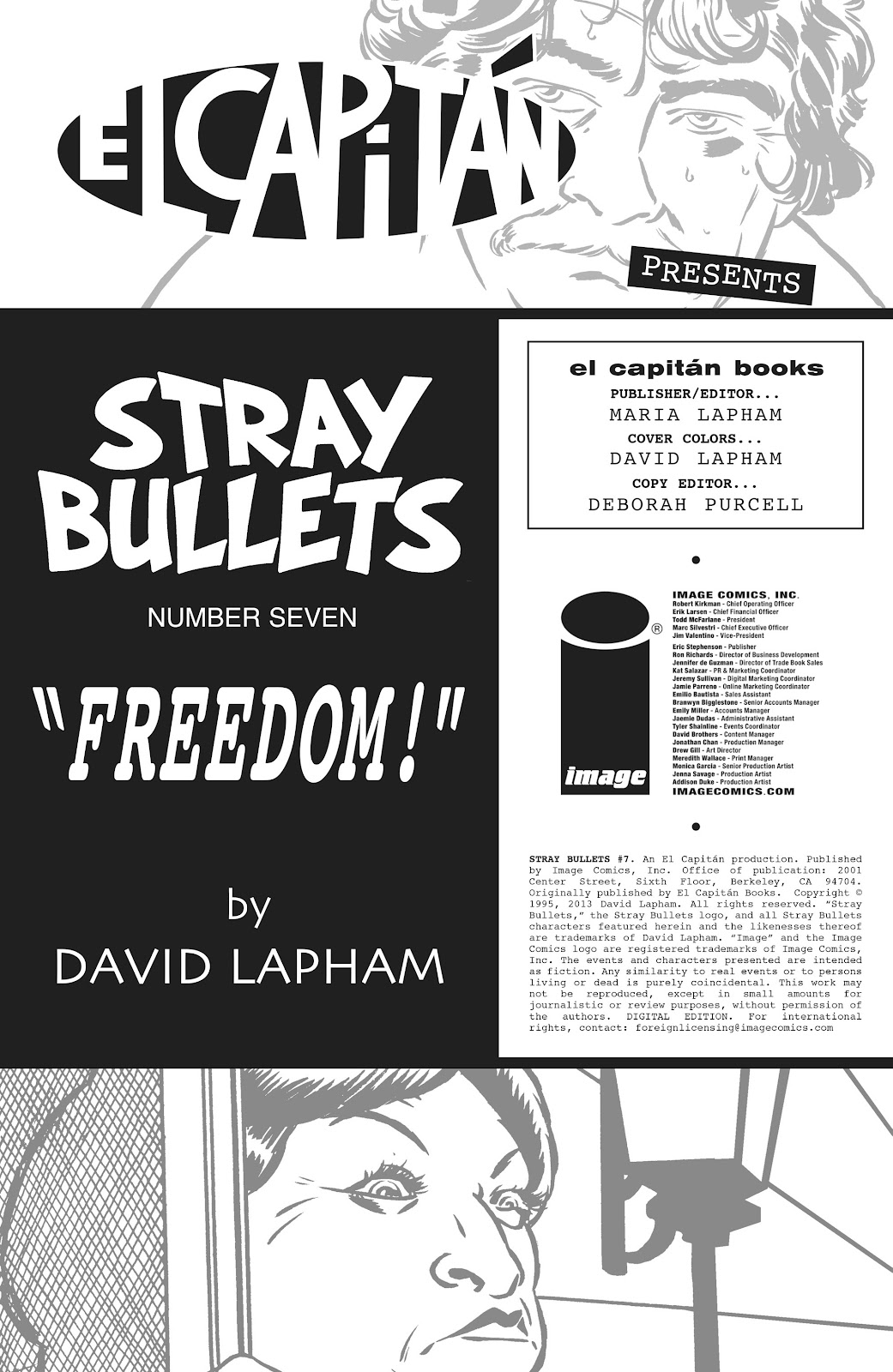 Stray Bullets Issue #7 #7 - English 2