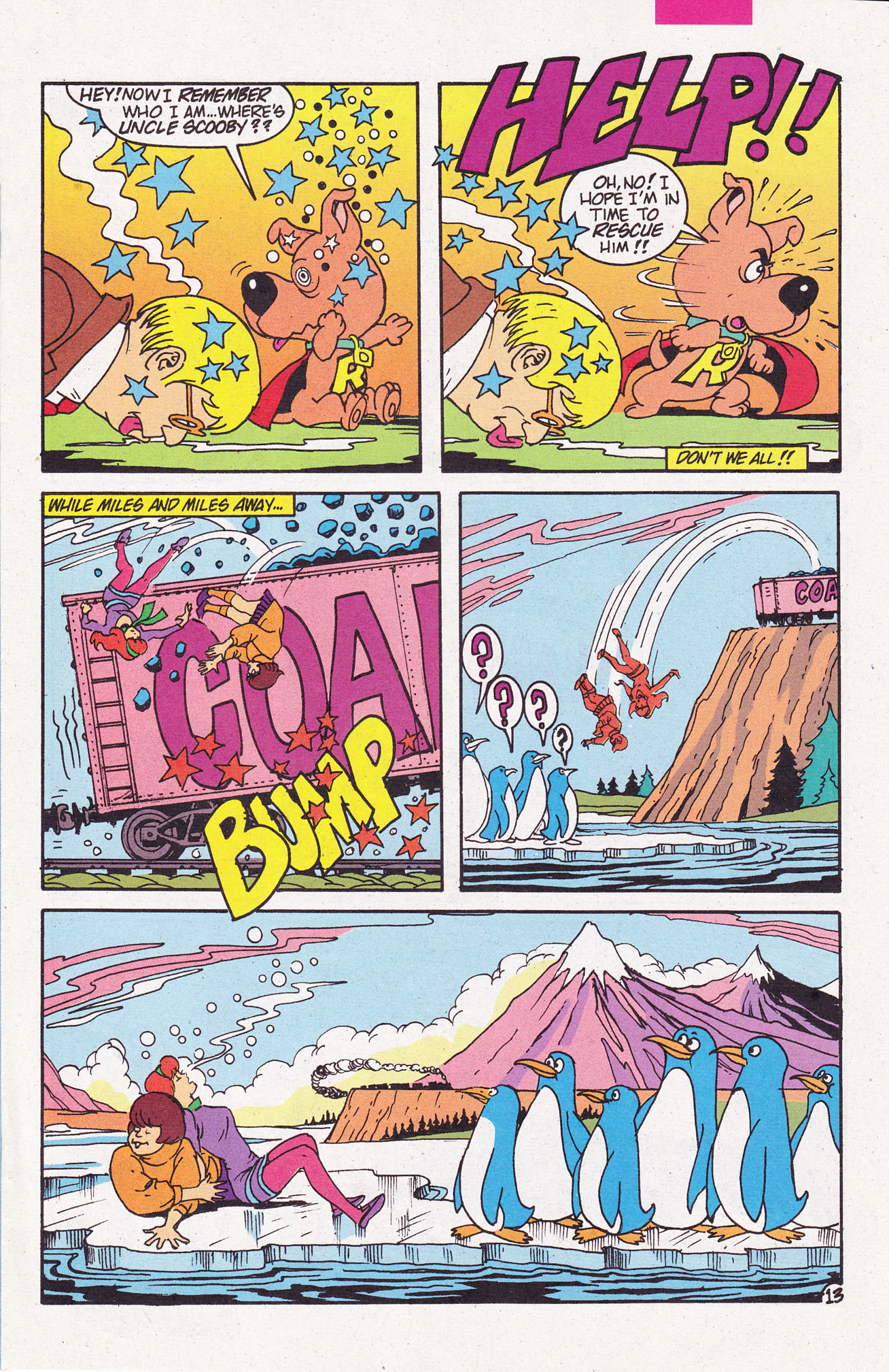 Read online Scooby-Doo (1995) comic -  Issue #6 - 17