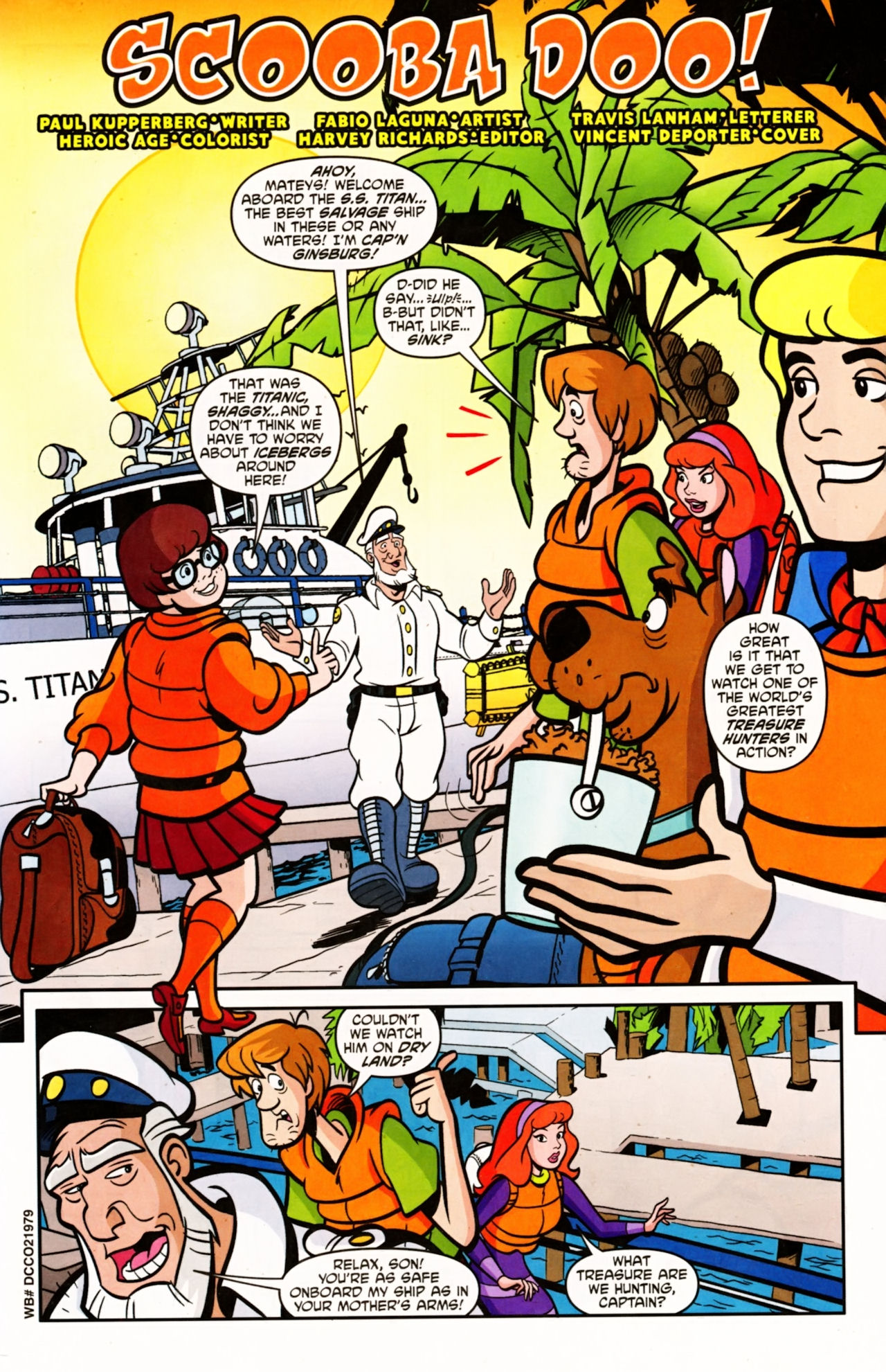 Read online Scooby-Doo (1997) comic -  Issue #154 - 2